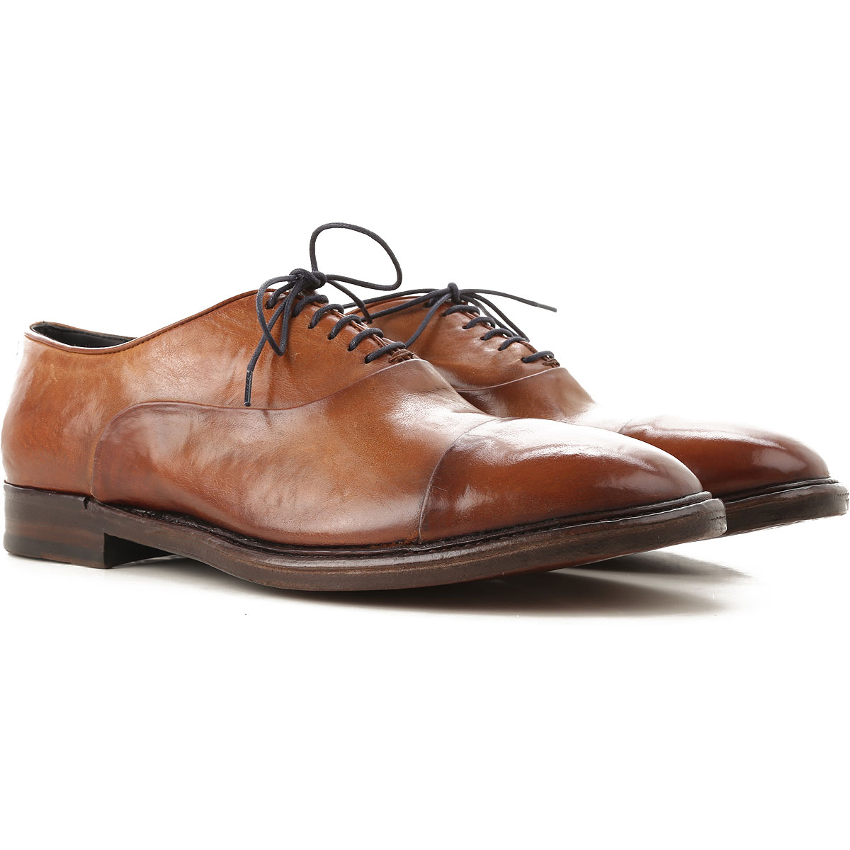 Image of Alberto Fasciani Lace Up Shoes for Men Oxfords, Derbies and Brogues, Leather, Leather, 2017, 10 11 7 8 9