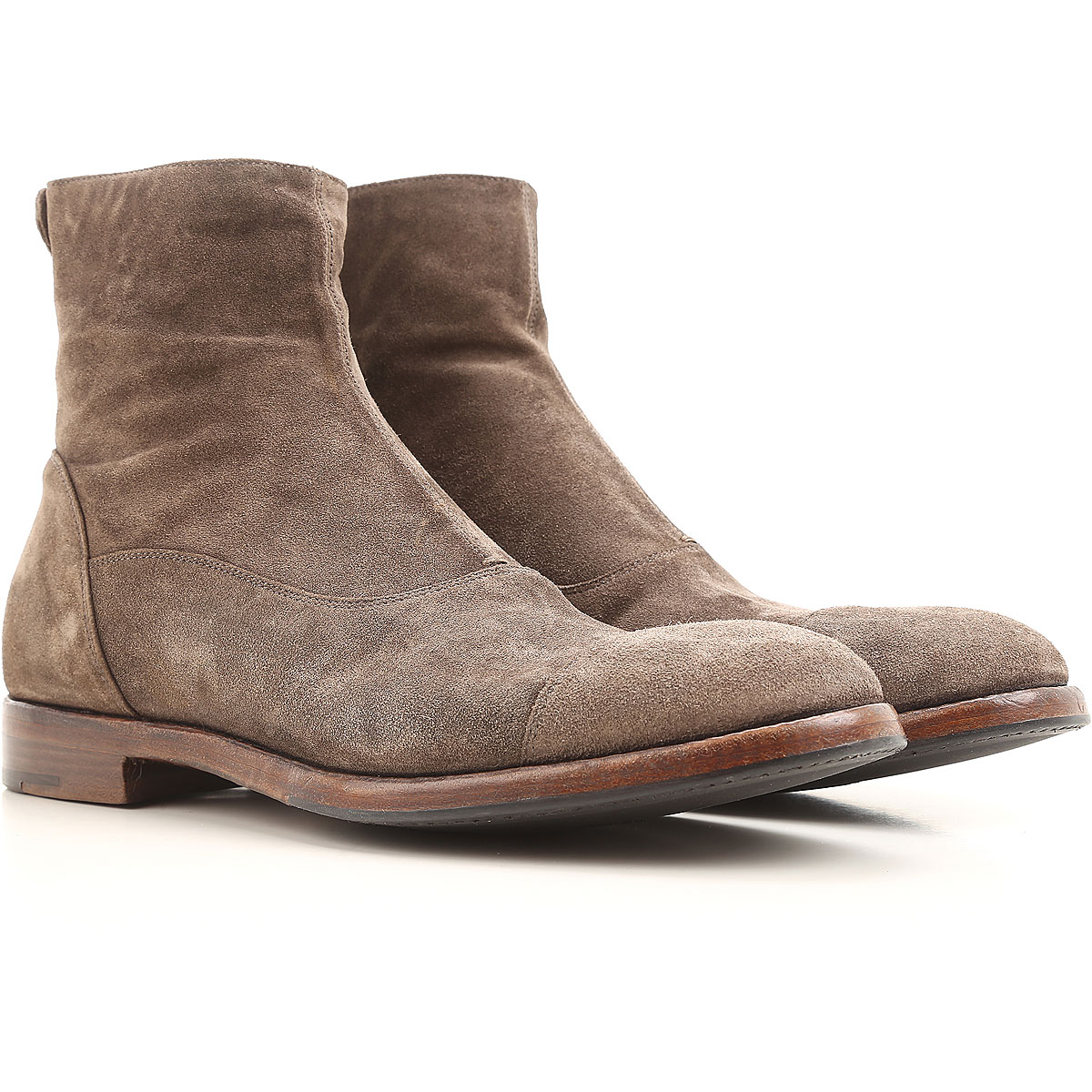 Image of Alberto Fasciani Boots for Women, Booties On Sale in Outlet, Mouse Grey, Suede leather, 2017, 10.5 11