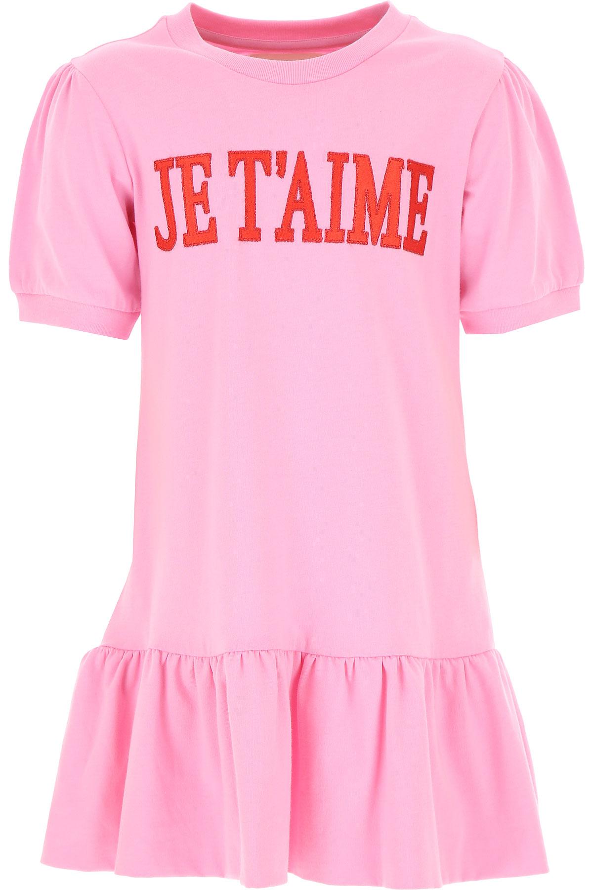 Alberta Ferretti Girls Dress On Sale, Candy Pink, Cotton, 2019, 4Y 6Y