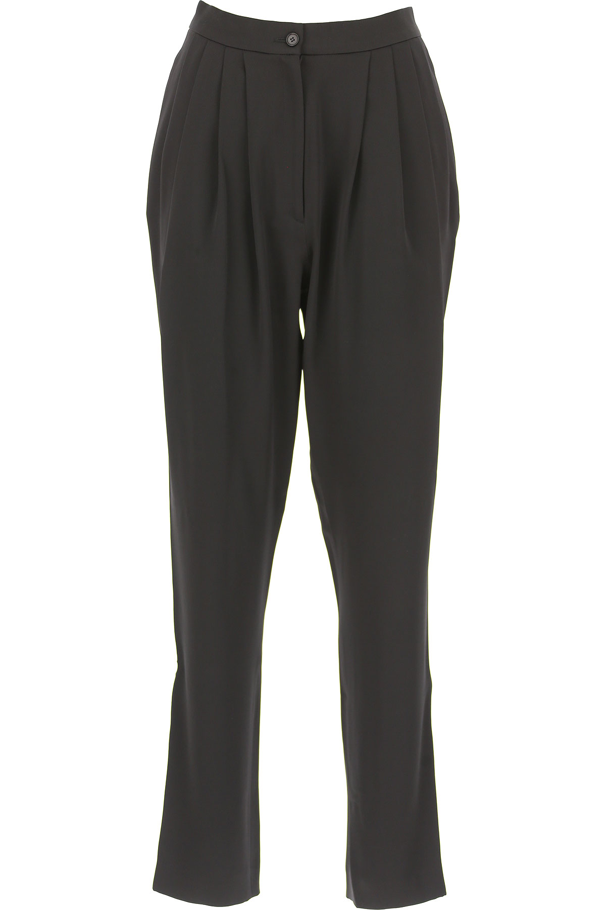 Image of Alberta Ferretti Pants for Women, Black, acetate, 2017, 26 28