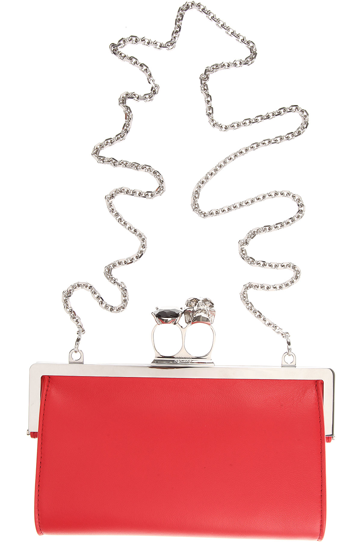 Image of Alexander McQueen Clutch Bag, Lust, Leather, 2017