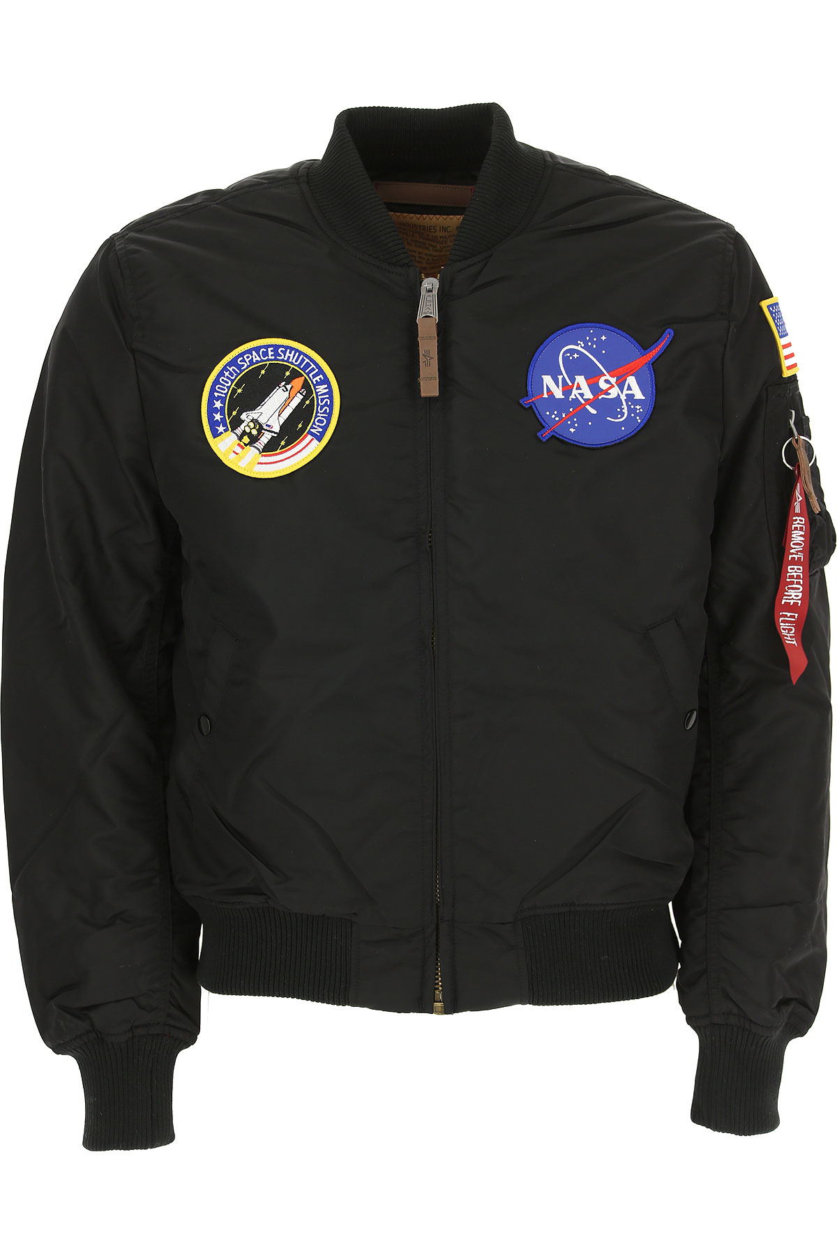 Image of Alpha Industries Jacket for Men, Black, polyester, 2017, L M S XL XXL