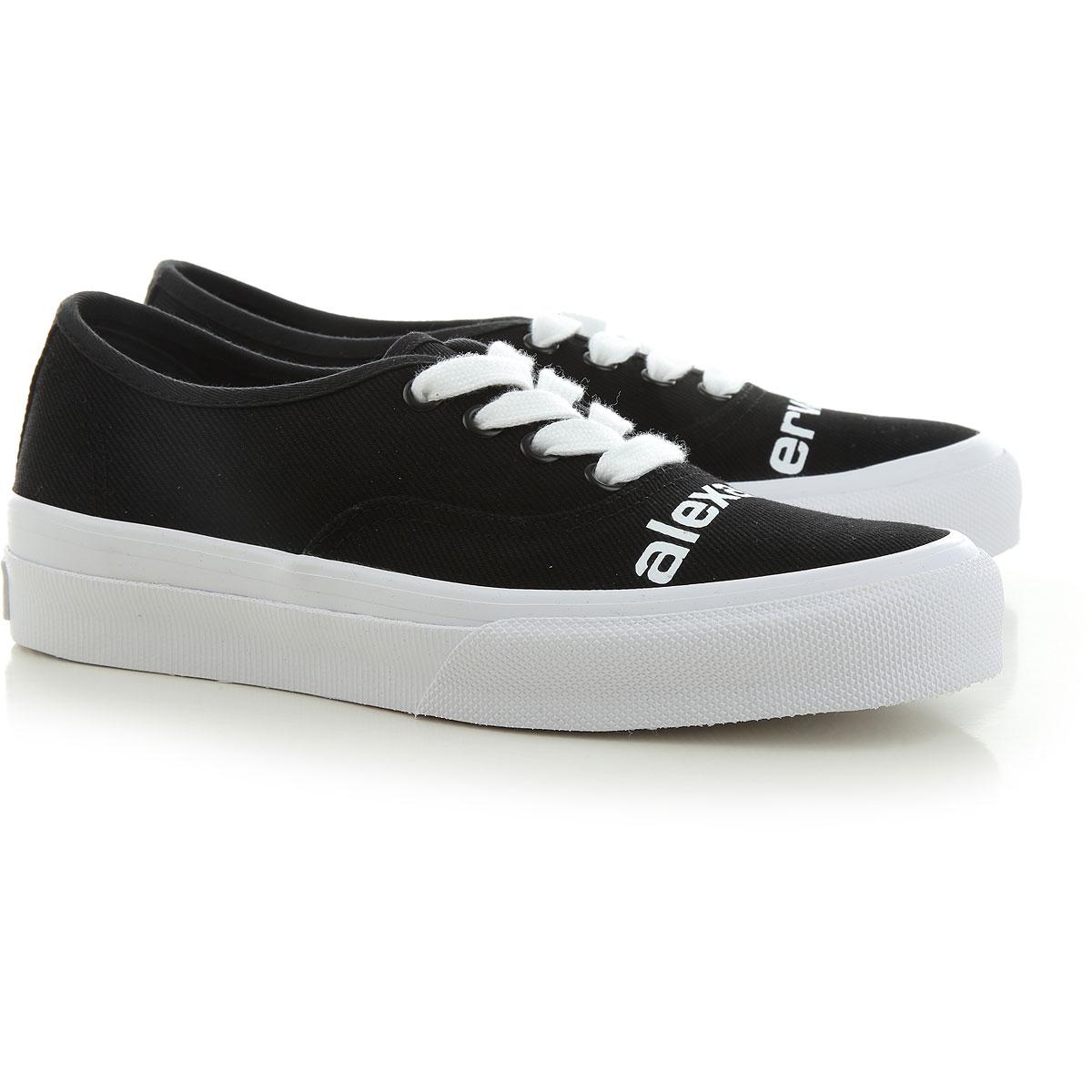 Alexander Wang Sneaker Femme, Noir, Tissu, 2021, 37 38 39 40