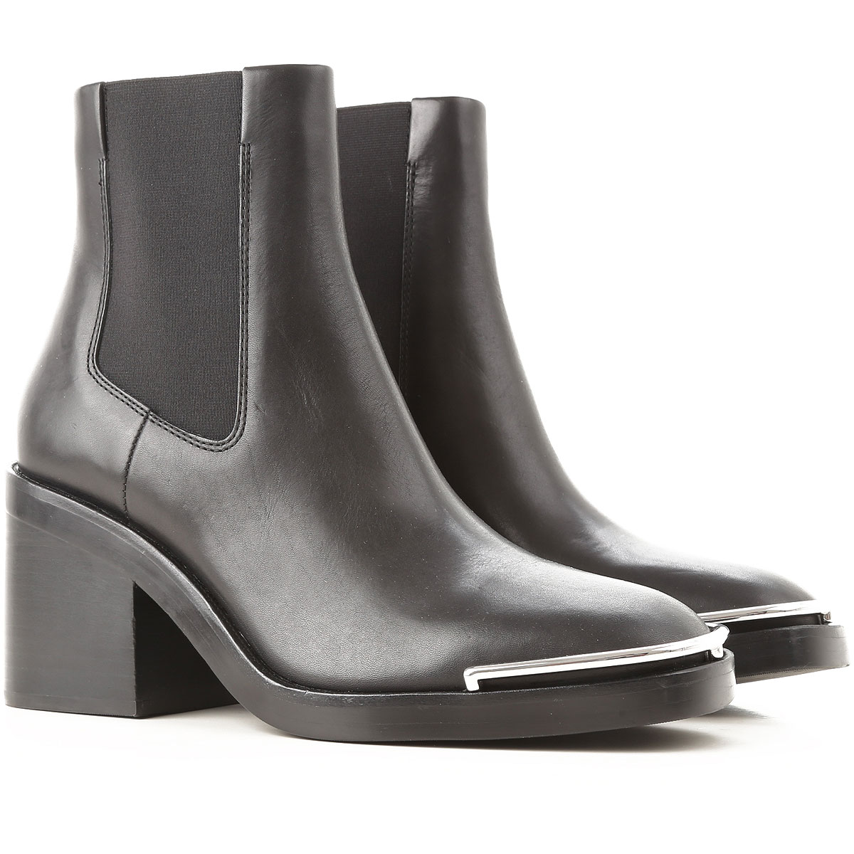 Image of Alexander Wang Boots for Women, Booties, Black, Leather, 2017, 10 5 6 6.5 7 8 8.5 9