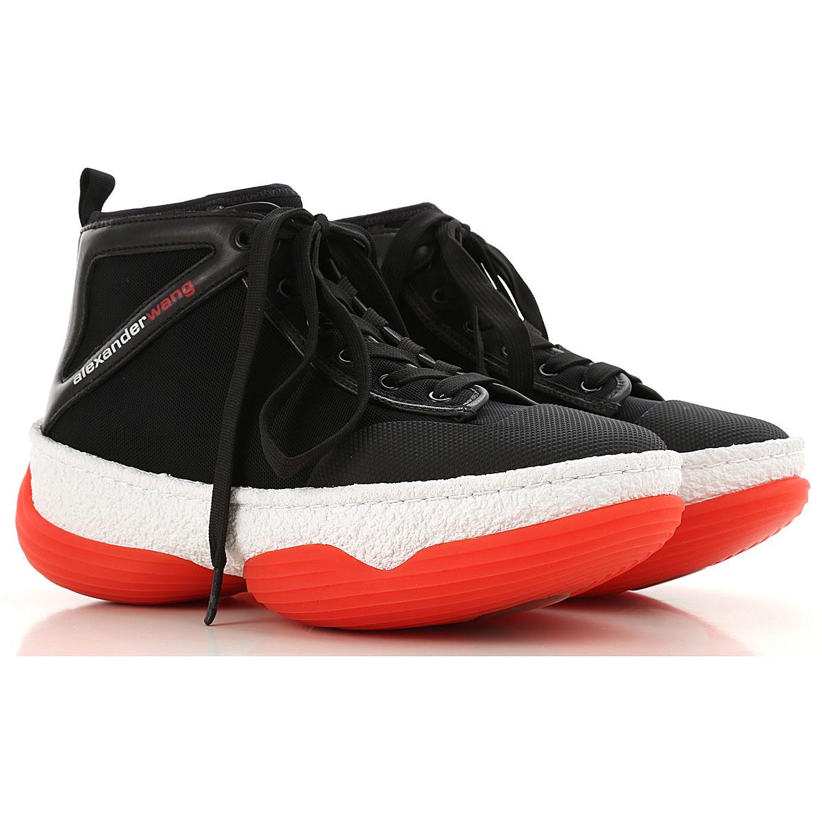 Alexander Wang Sneaker Femme, Noir, Tissu, 2017, 35 35.5 36 36.5 37 37.5 38 39