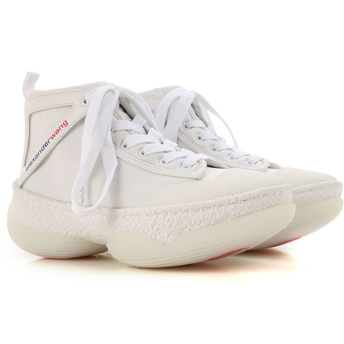 Alexander Wang Sneaker Femme, Blanc, Tissu, 2017, 36 37 38 39 40