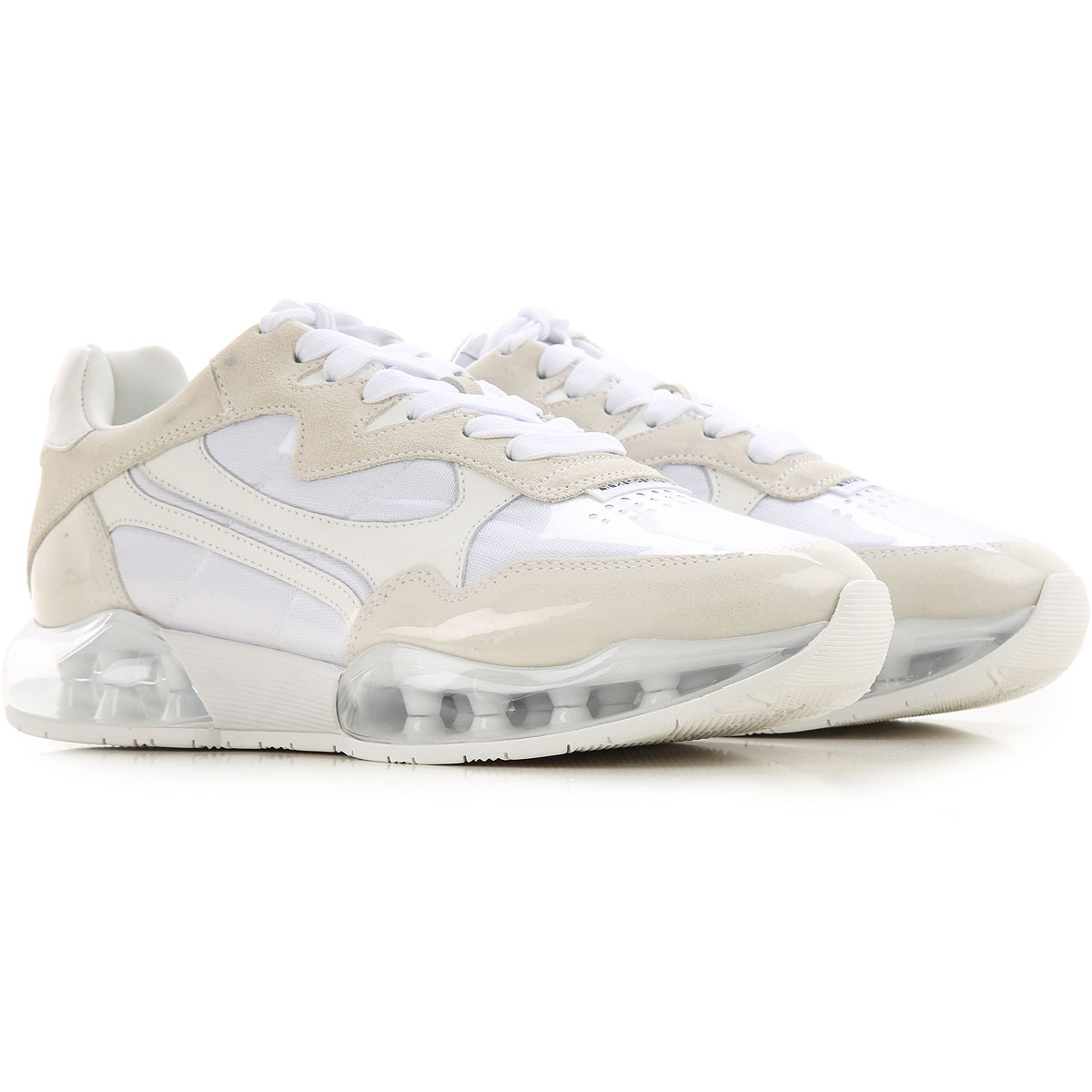 Alexander Wang Sneakers for Women On Sale, White, Suede leather, 2019, 7 9