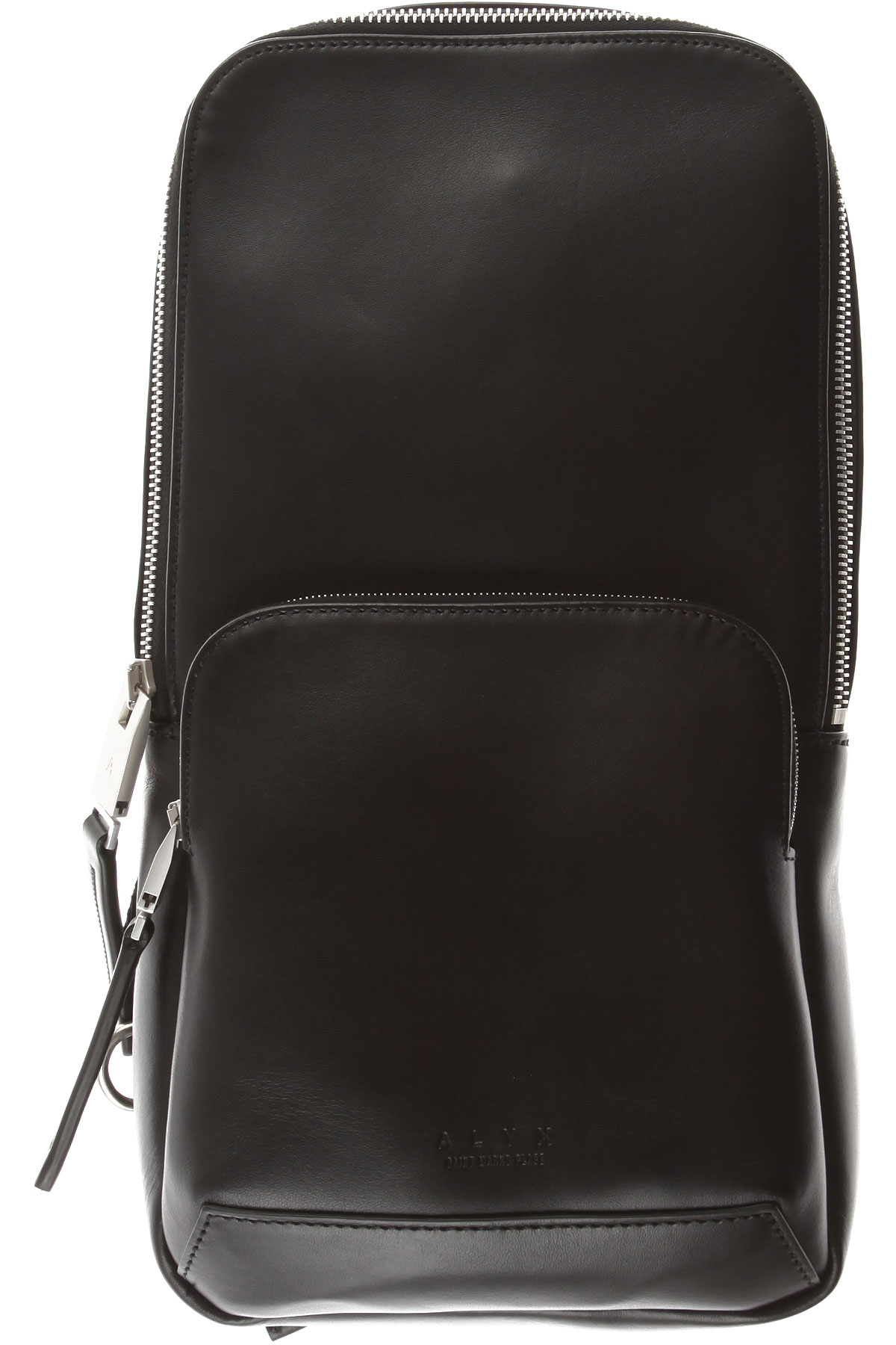 Image of ALYX Backpack for Men, Black, Leather, 2017, one size