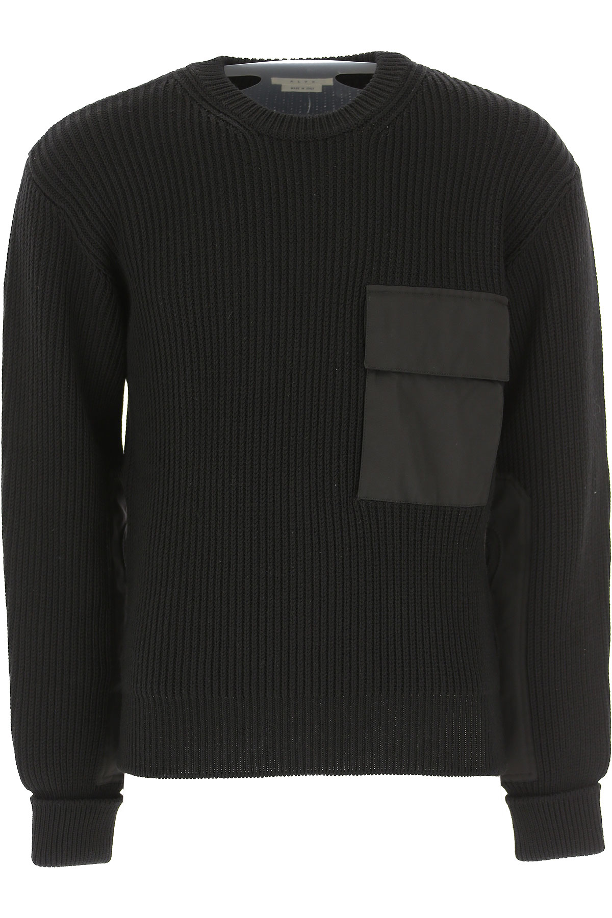 ALYX Sweater for Men Jumper On Sale in Outlet, Black, Wool, 2019, L S
