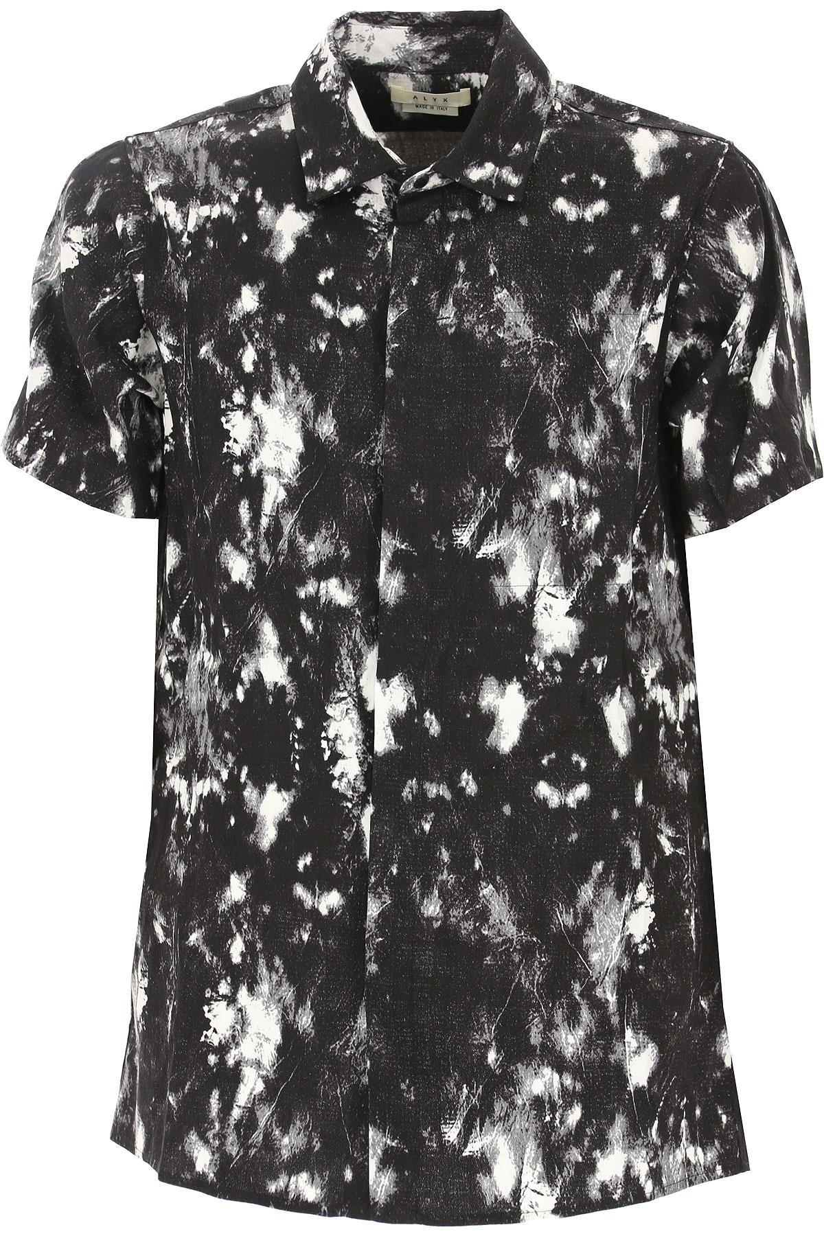 ALYX Shirt for Men On Sale in Outlet, Black, Viscose, 2019, M