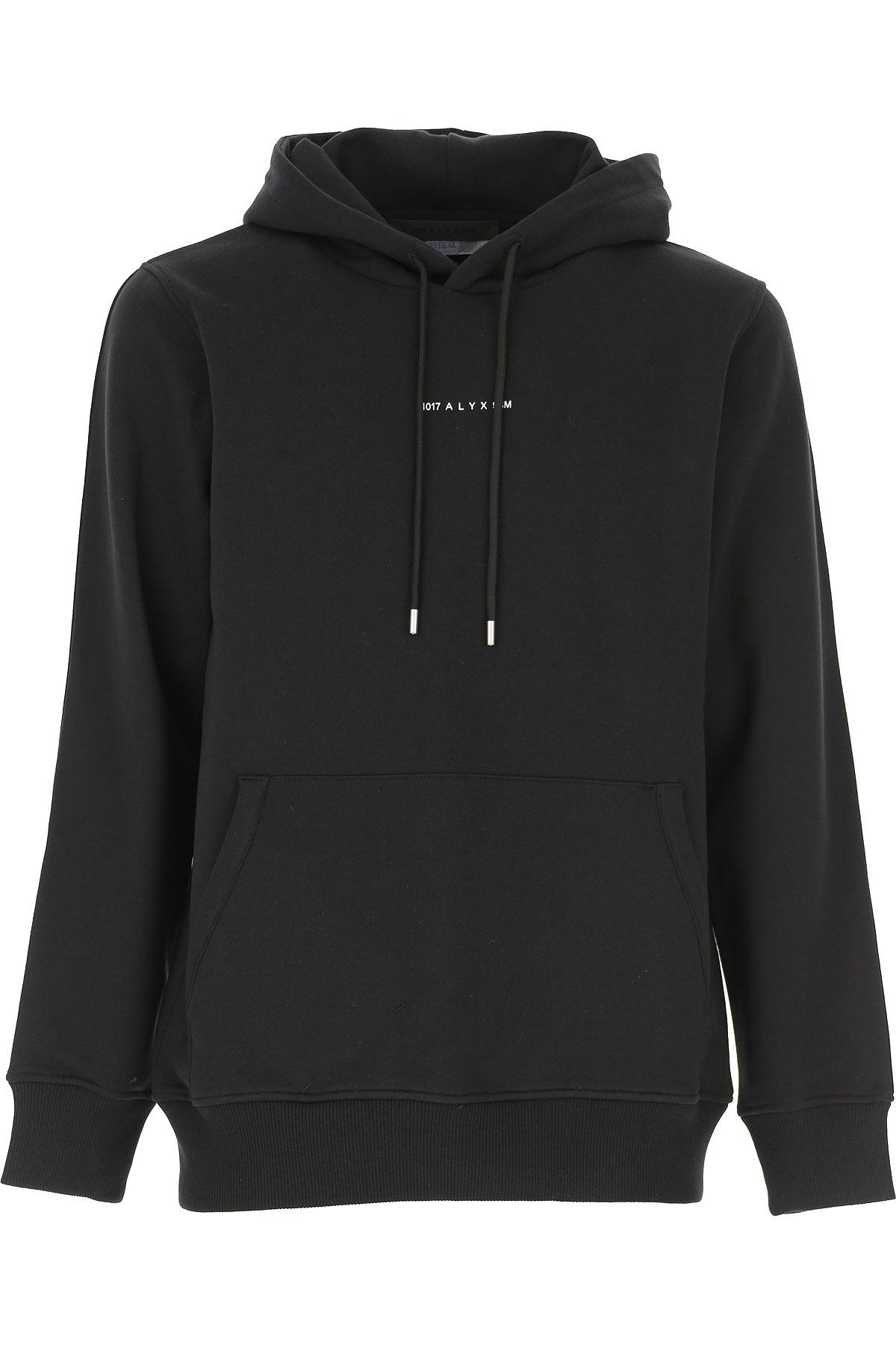ALYX Sweatshirt for Men On Sale, Black, Cotton, 2019, L M S XL