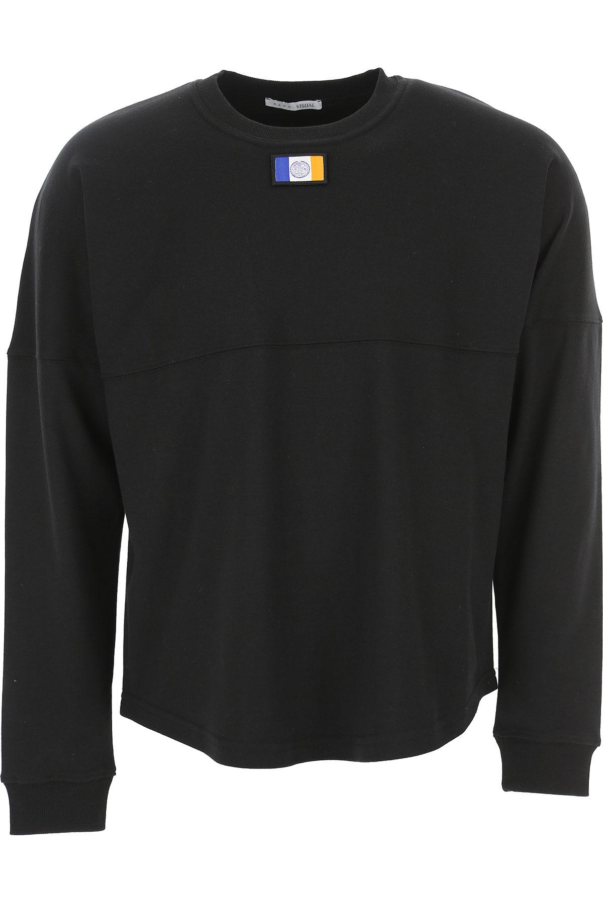 ALYX Sweatshirt for Men On Sale in Outlet, Black, Cotton, 2019, M XS