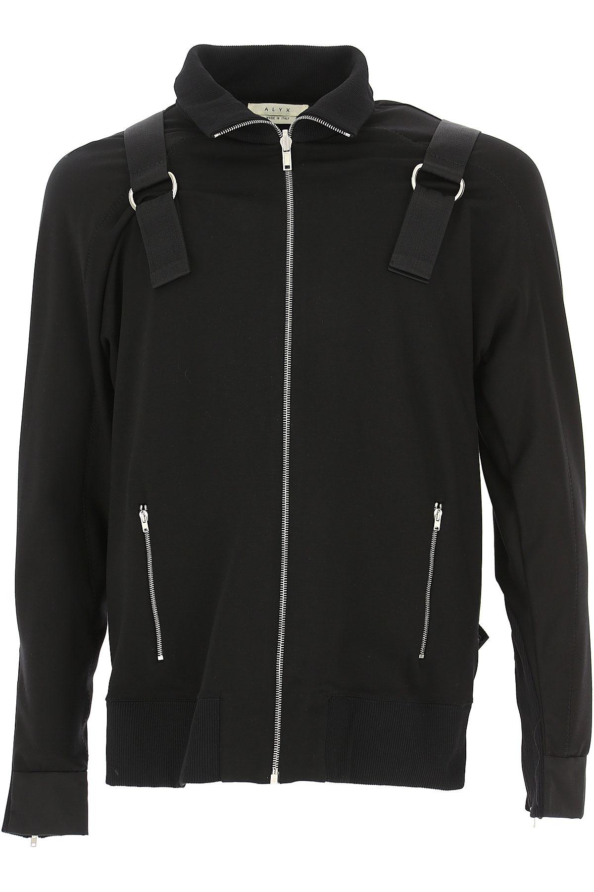 ALYX Sweatshirt for Men On Sale in Outlet, Black, Viscose, 2019, L M S