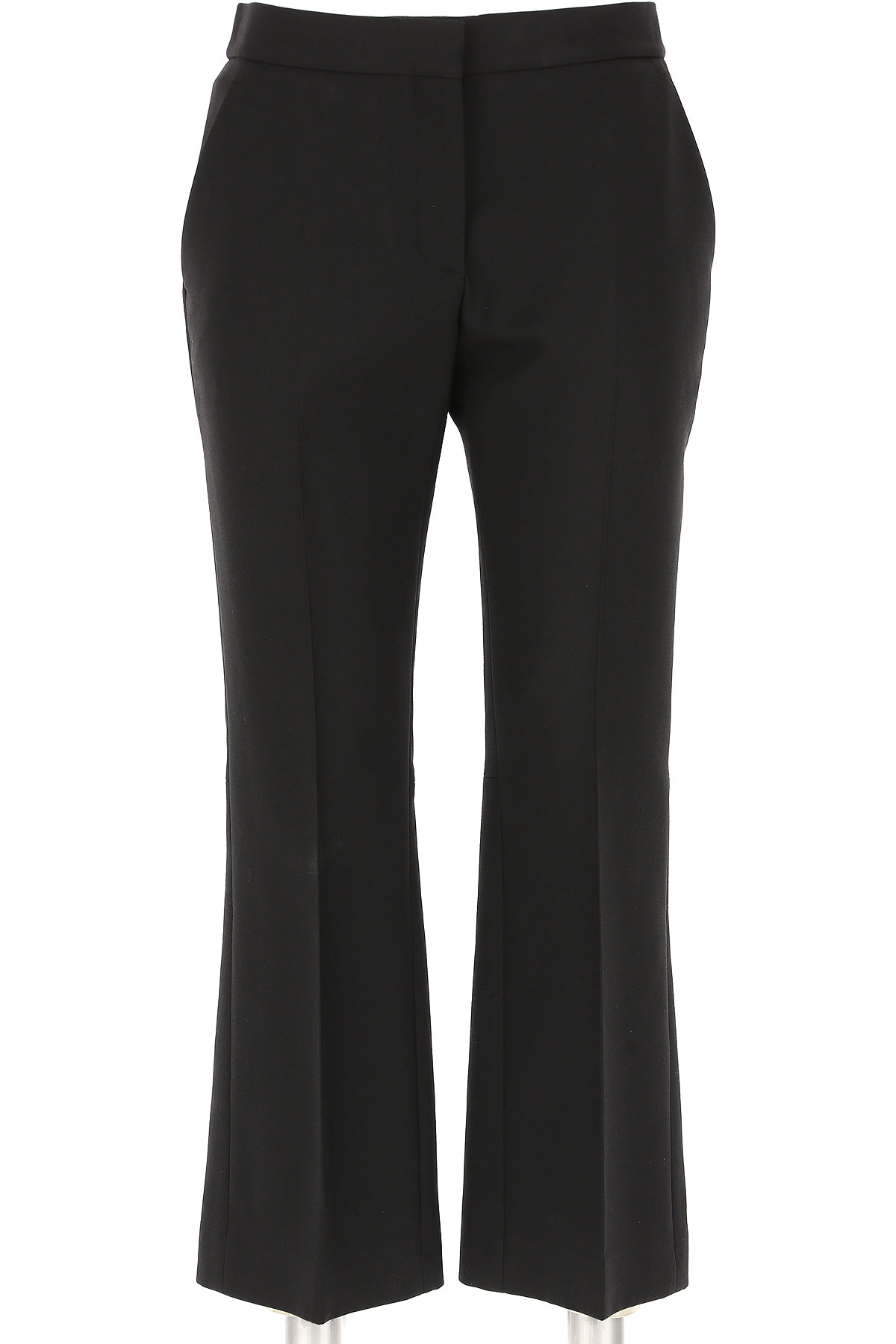 Image of Alexander McQueen Pants for Women, Black, Wool, 2017, 24 26 28
