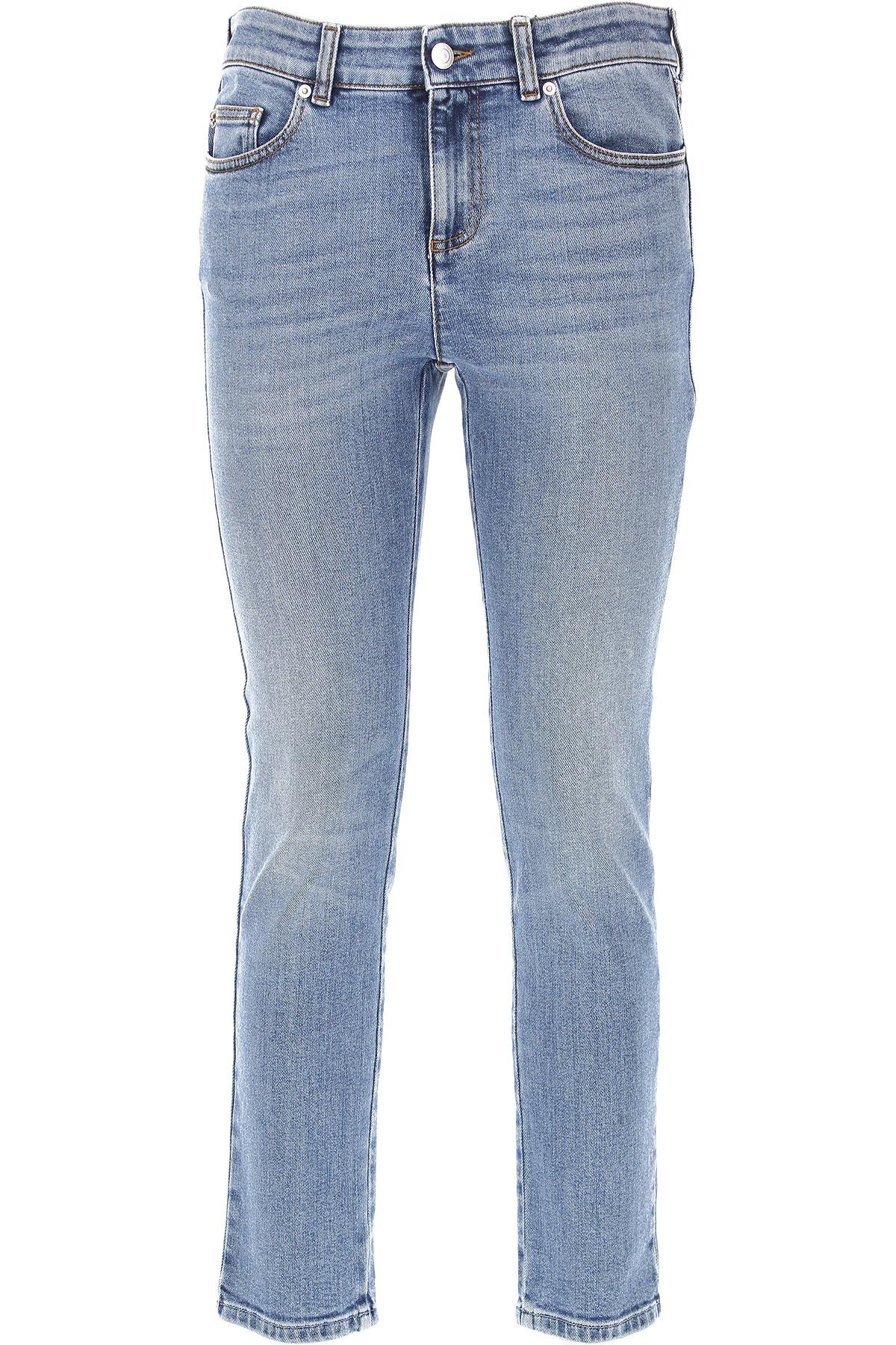 Alexander McQueen Jeans On Sale, Denim, Cotton, 2017, 26 27 28 30