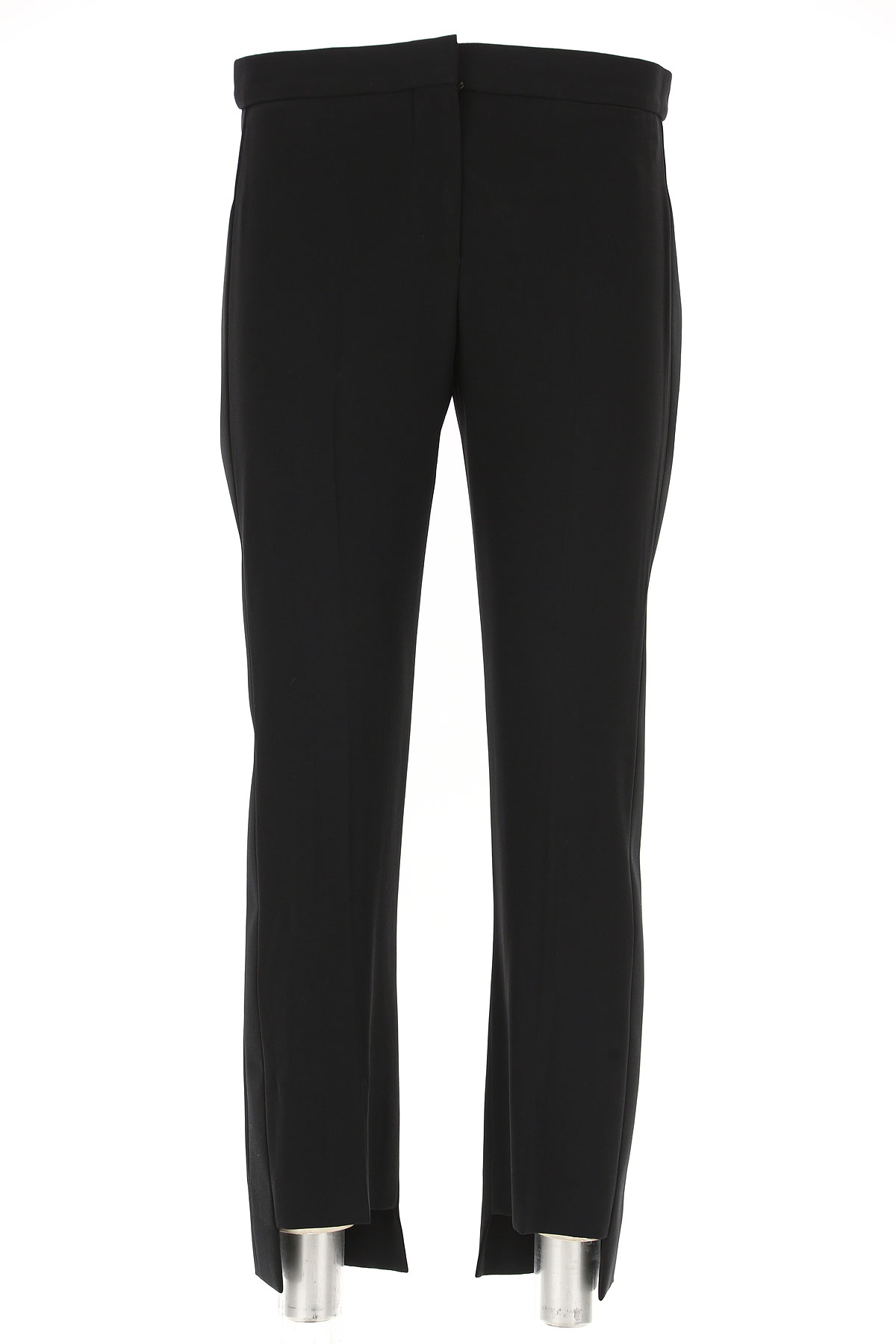 Image of Alexander McQueen Pants for Women, Black, Viscose, 2017, 26 28 32