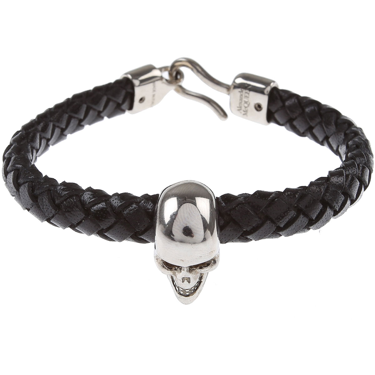 Alexander McQueen Bracelet for Men On Sale, Black, Leather, 2019