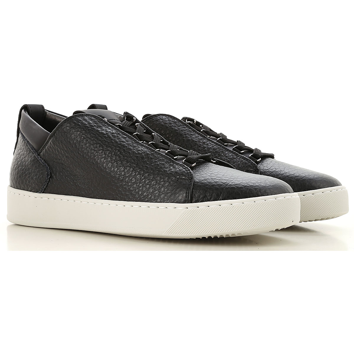 Image of Alexander Smith Sneakers for Men, Black, Leather, 2017, 11 7 8 9