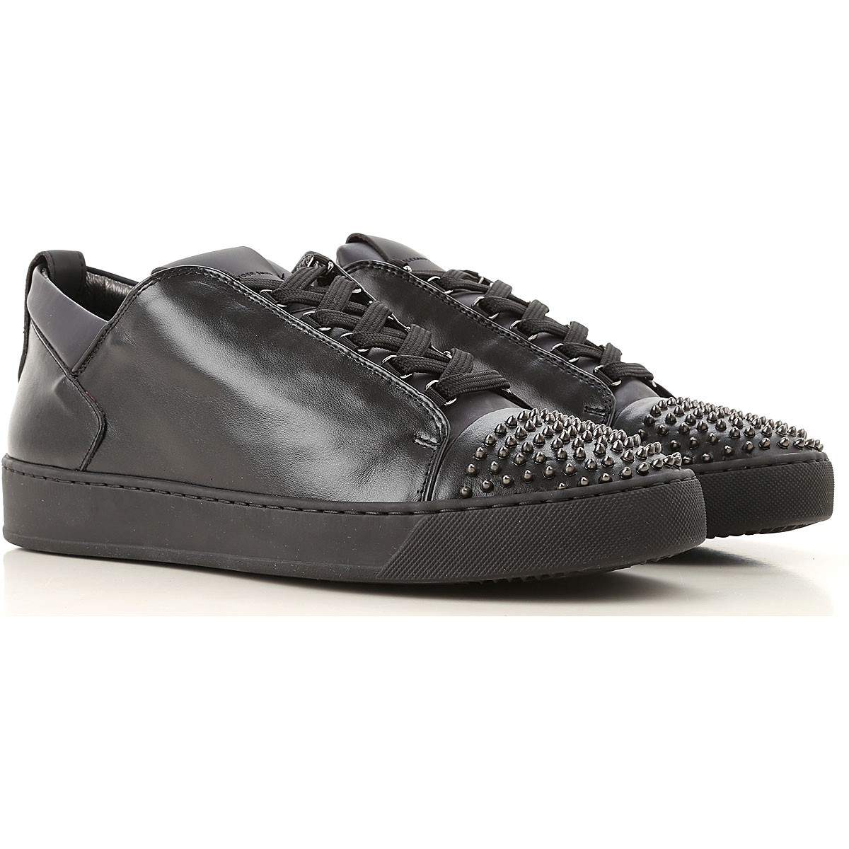 Image of Alexander Smith Sneakers for Men, Black, Leather, 2017, 10 11 7 8 9