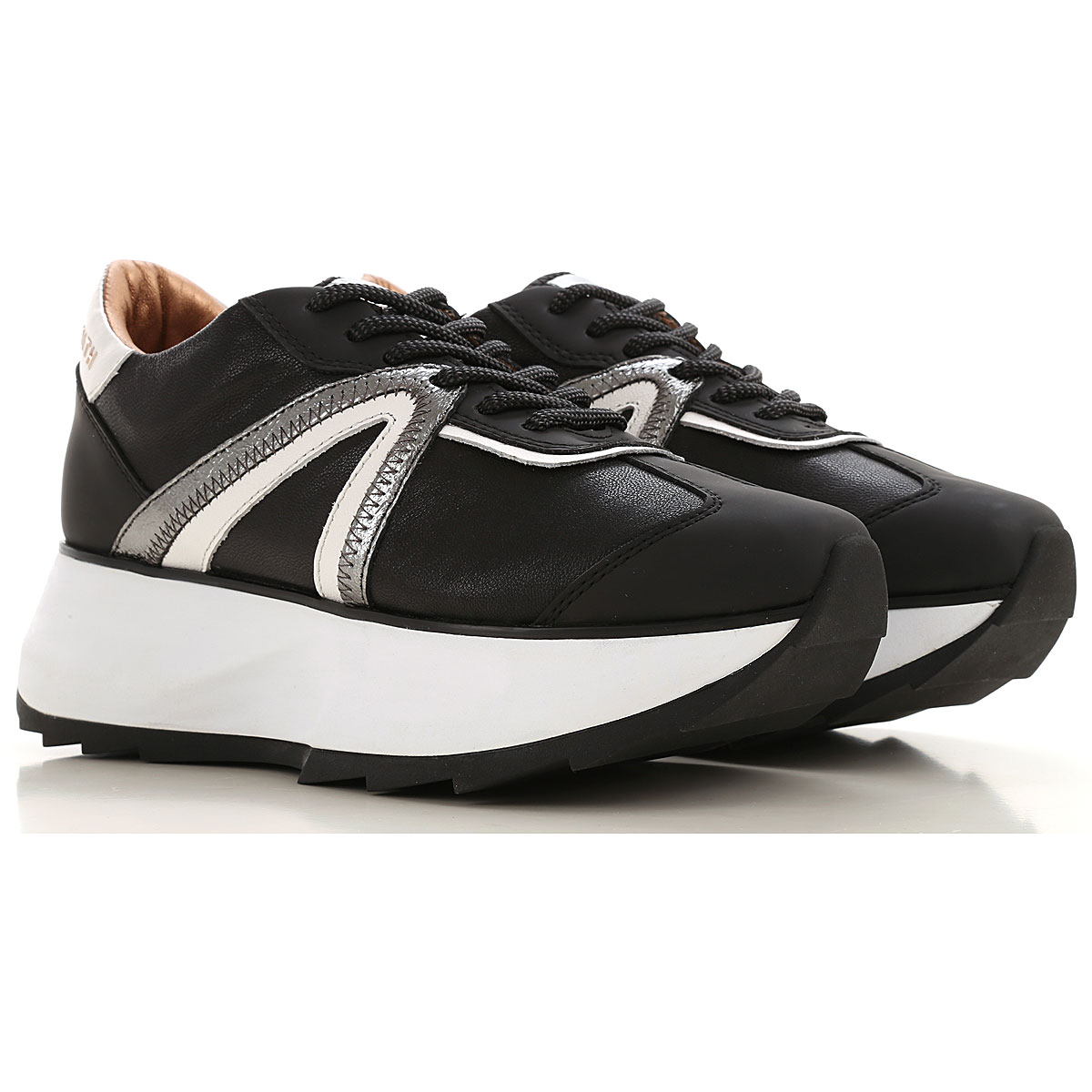 Alexander Smith Sneakers for Women On Sale, Black, Leather, 2019, 10 5 6 7 9