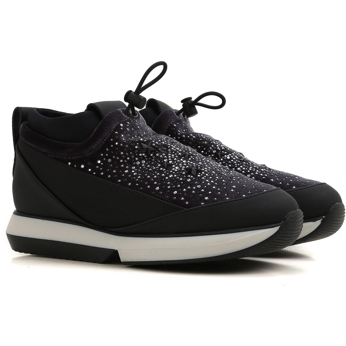 Image of Alexander Smith Sneakers for Women On Sale in Outlet, Grey, Leather, 2017, 6 8