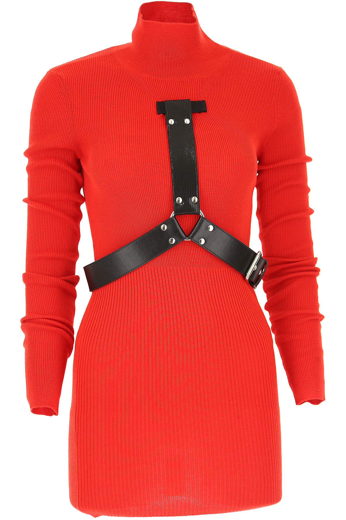Image of ALYX Dress for Women, Evening Cocktail Party, Red, Wool, 2017, 4 6