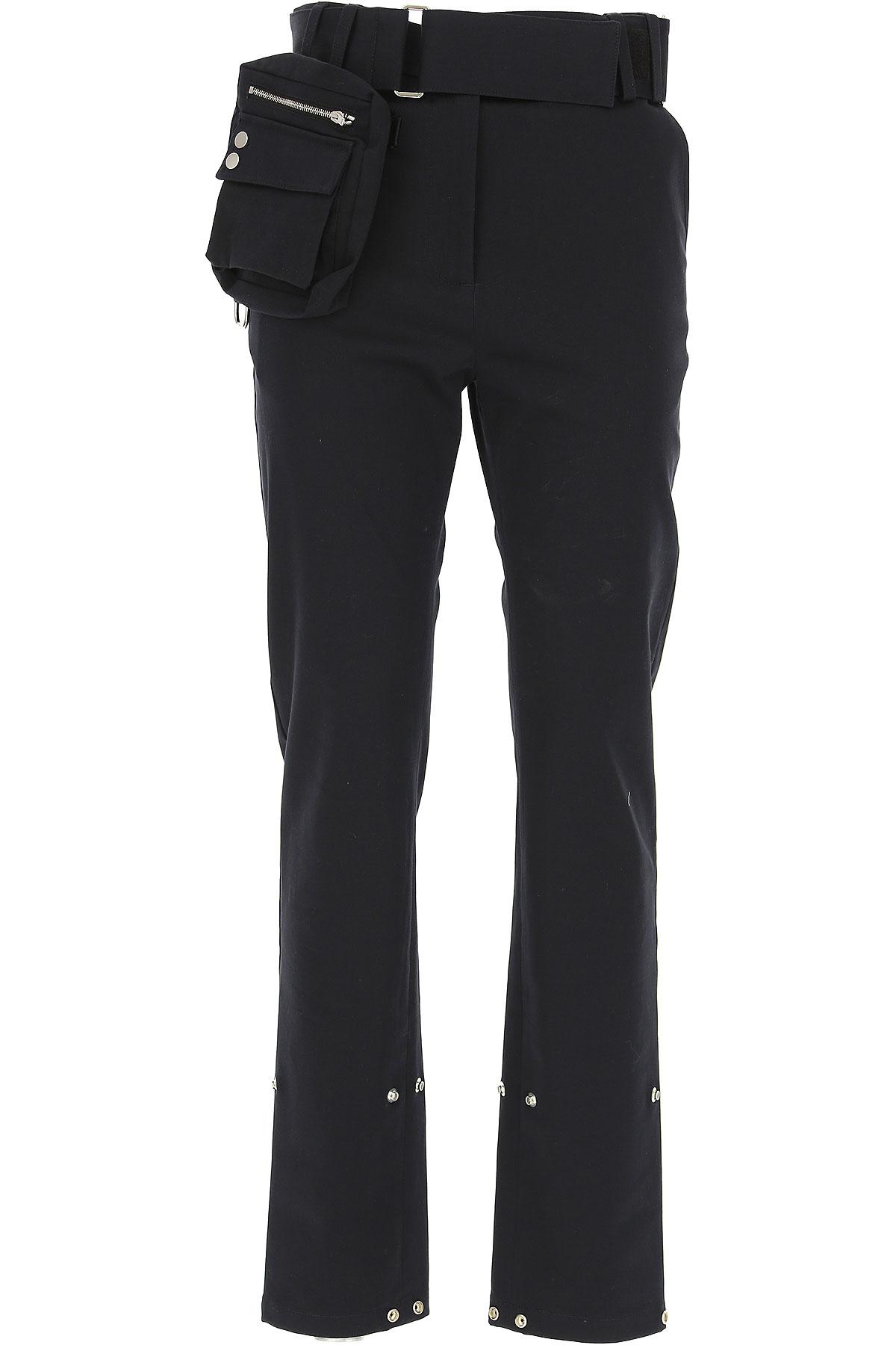 Image of ALYX Pants for Women, Black, Cotton, 2017, 2 26