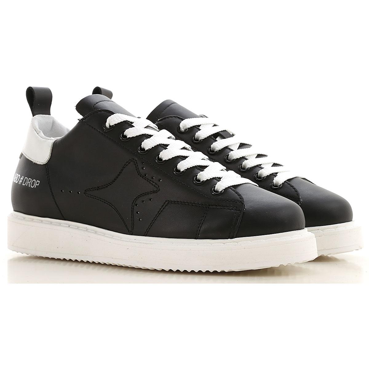 Ama Brand Sneakers for Women, Black, Leather, 2019, EUR 36 - UK 3 - USA 5.5 EUR 37 - UK 4 - USA 6.5