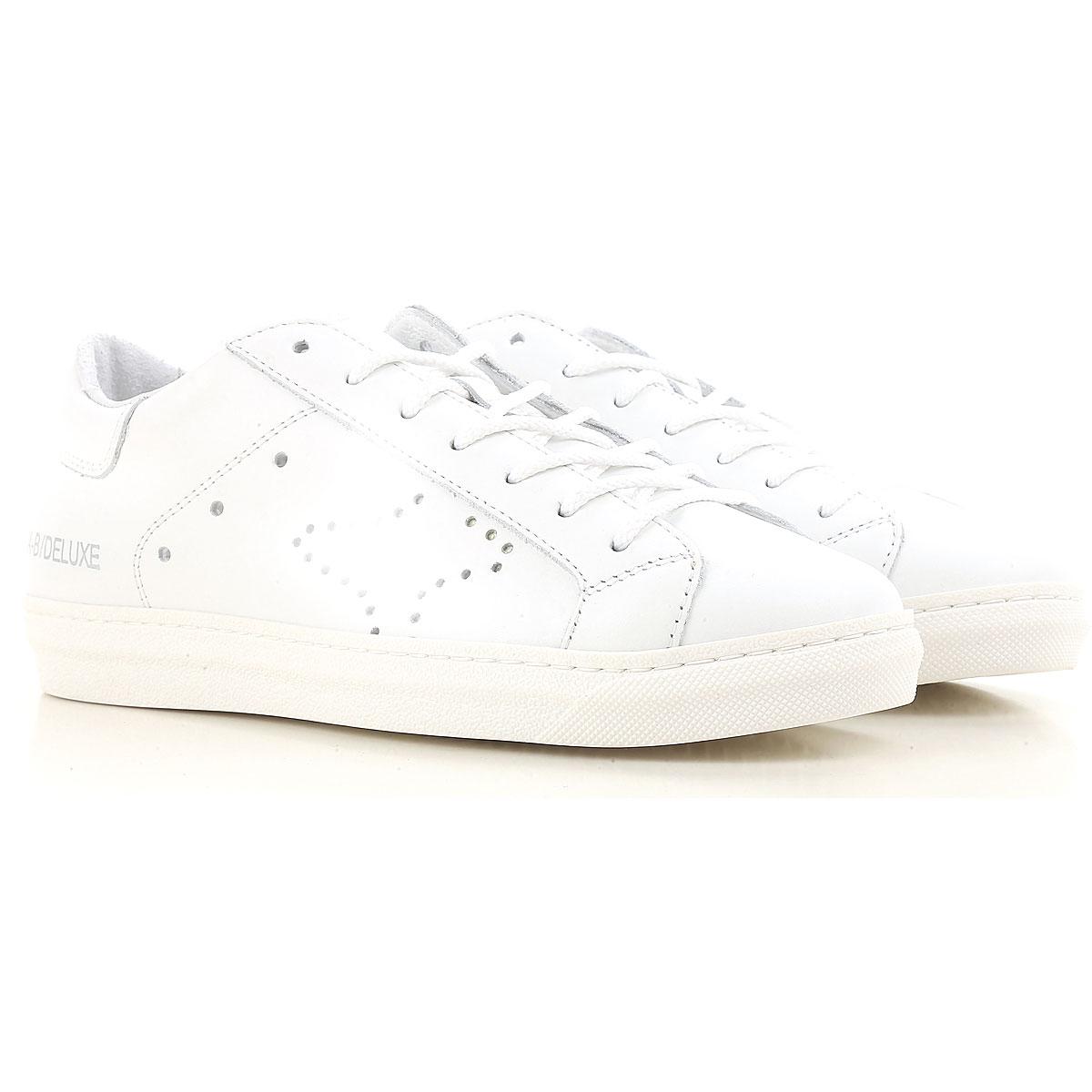 Ama Brand Sneaker Femme, Blanc, Cuir, 2017, 36 37 38 39 40