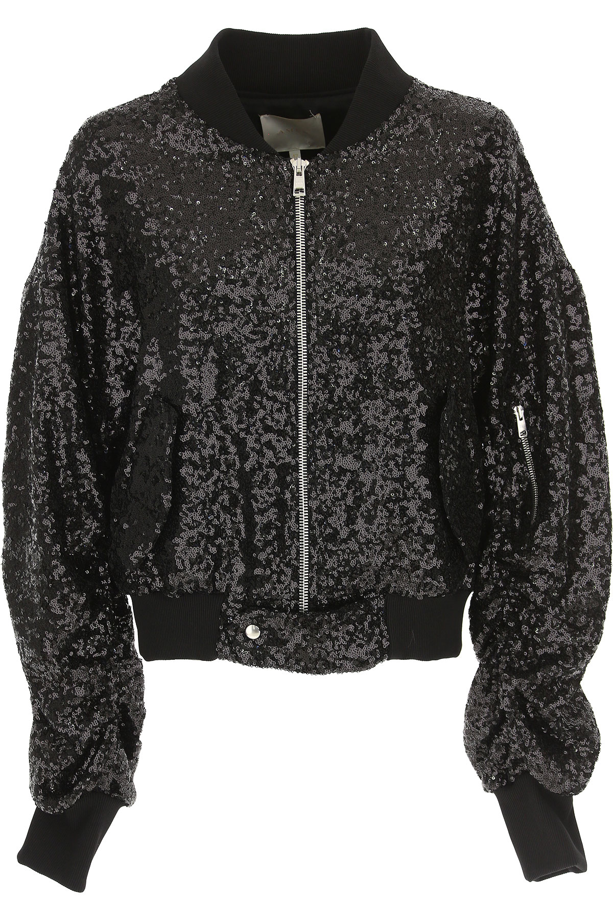 Image of Amen Jacket for Women, Black, polyester, 2017, 4 6