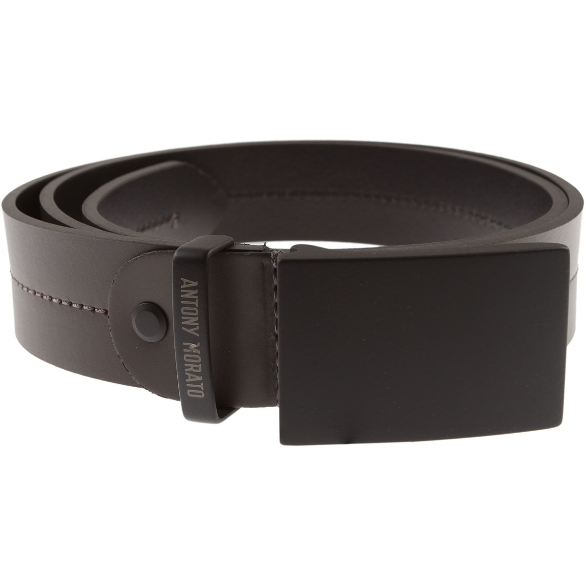 Image of Antony Morato Mens Belts, london grey, Leather, 2017, S M L XL