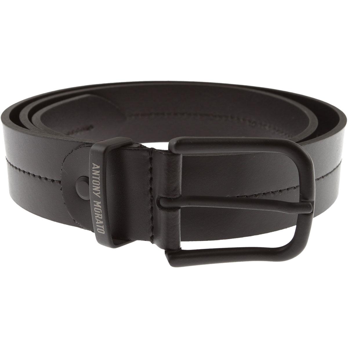 Image of Antony Morato Belts, Black, Leather, 2017, S M L XL