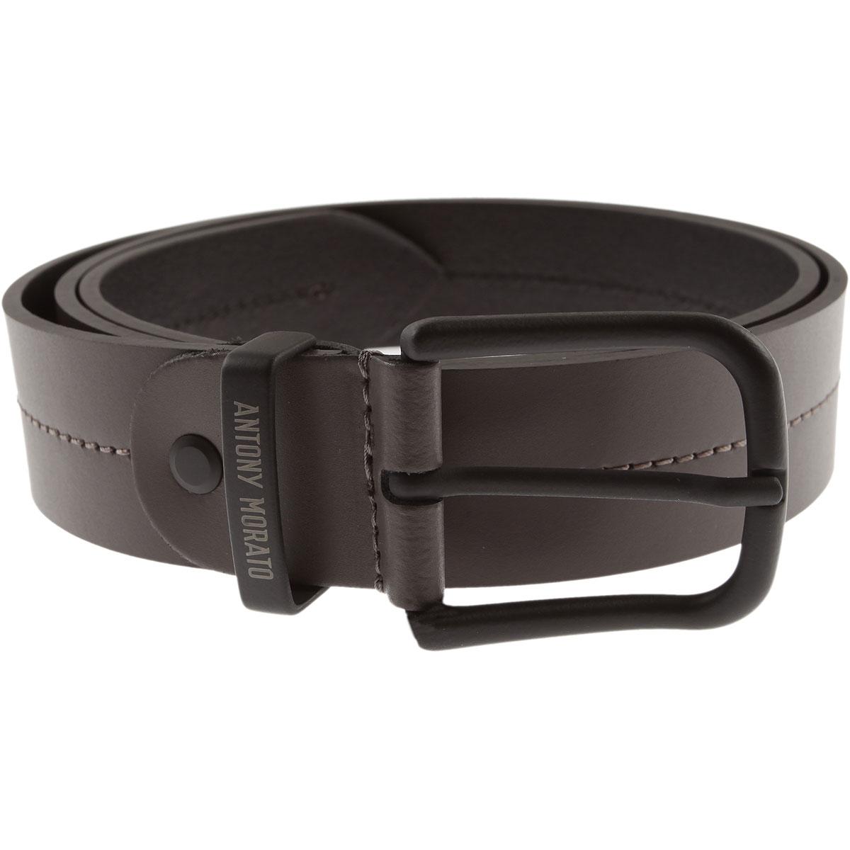 Image of Antony Morato Belts, london grey, Leather, 2017, S M L XL
