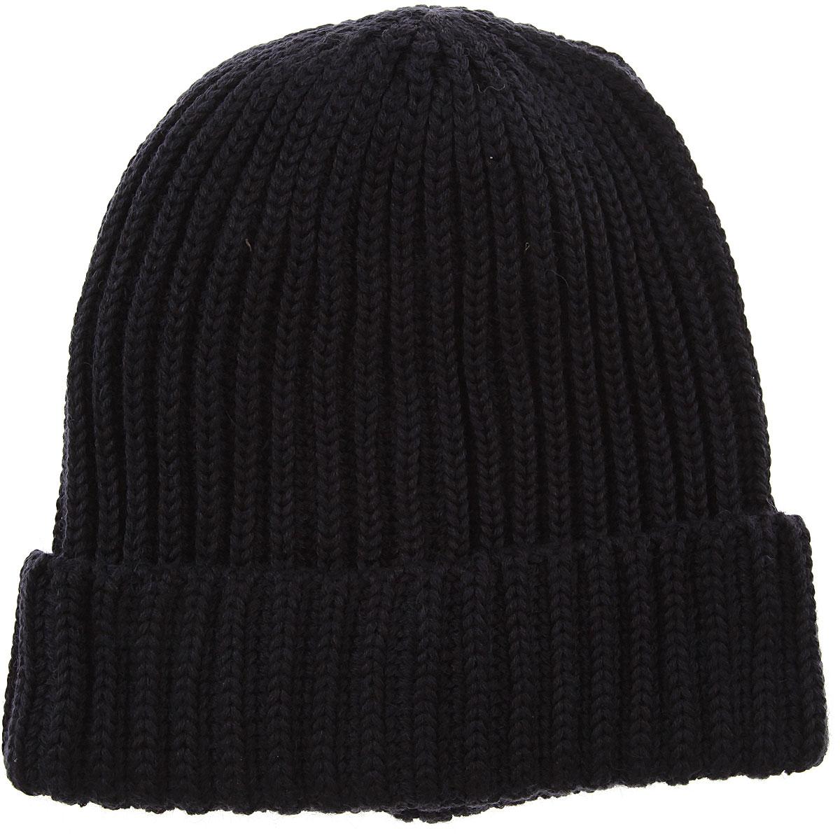 Image of Antony Morato Hat for Women On Sale, Blue Navy, Acrylic, 2017