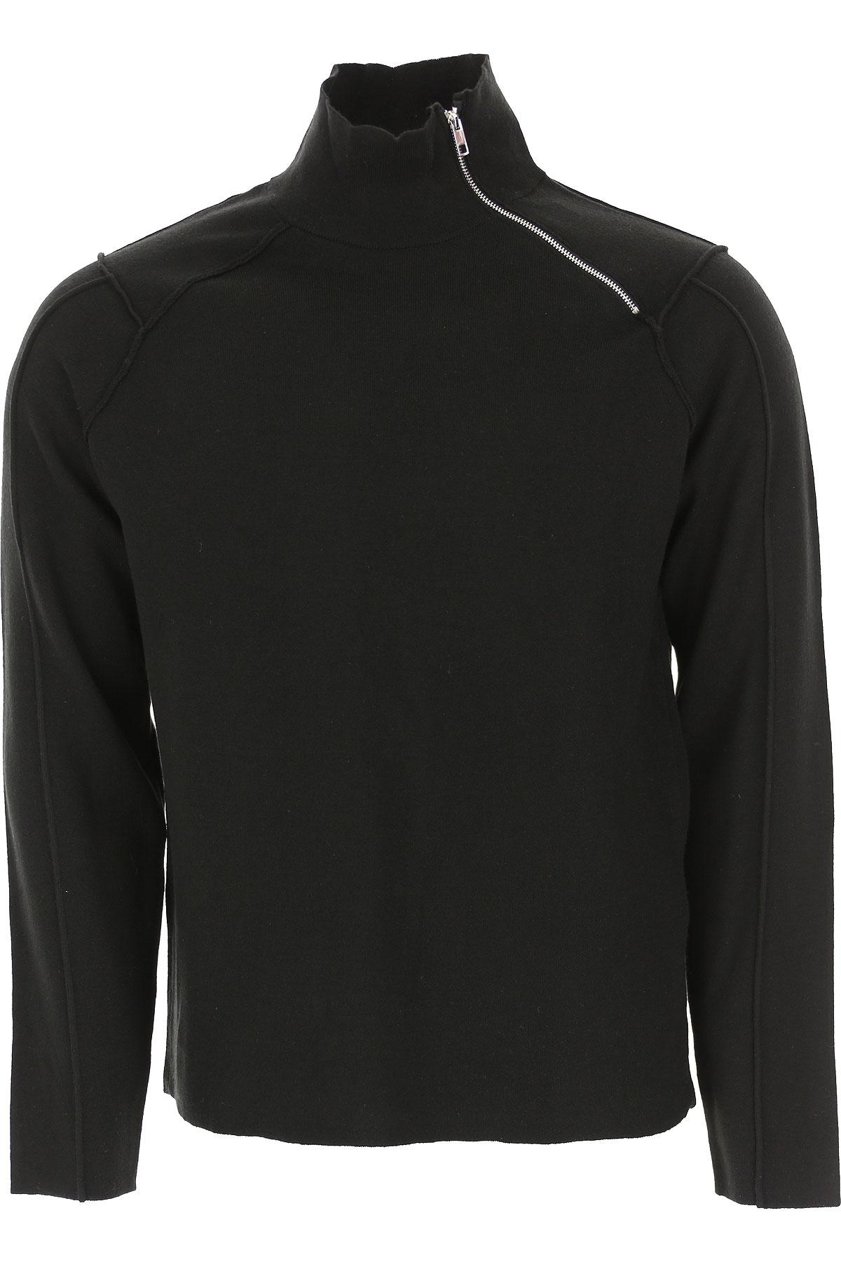 Antony Morato Sweater for Men Jumper On Sale, Black, polyamide, 2019, M S XXL