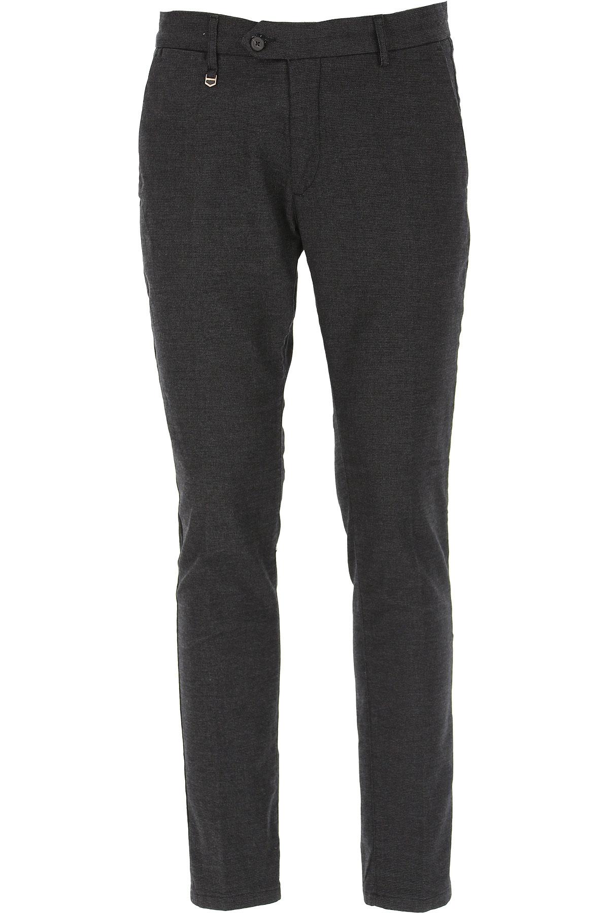 Antony Morato Pants for Men On Sale, Dark Anthracite Grey, Cotton, 2019, 31 32 33 34 36 38