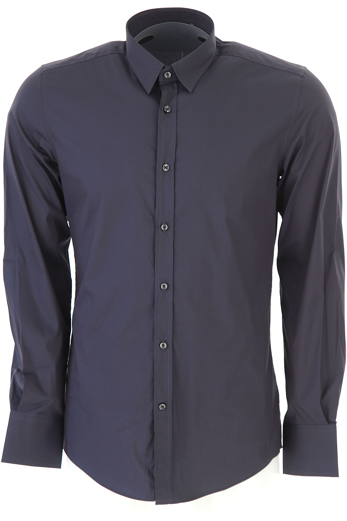 Image of Antony Morato Shirt for Men, Anthracite Grey, Cotton, 2017, L M S XL XS XXL