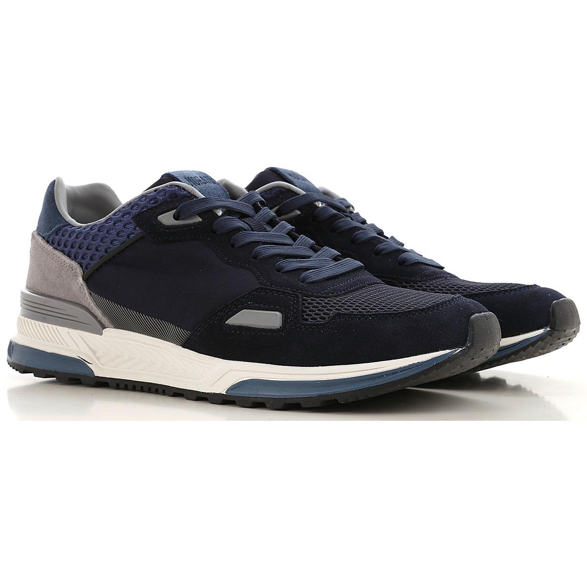 Antony Morato Sneakers for Men On Sale, Blue, suede, 2019, 10.5 7.5 8