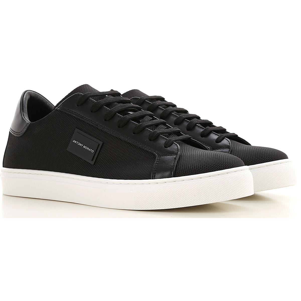 Antony Morato Sneakers for Men On Sale, Black, Nylon, 2019, 11.5 7.5