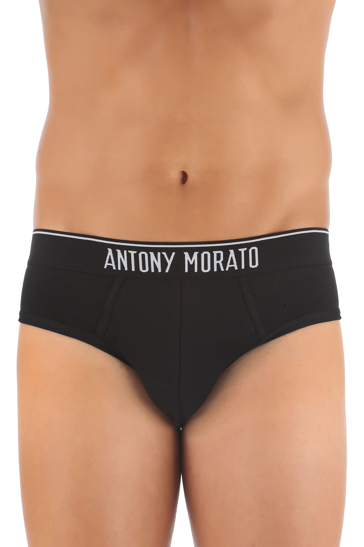 Image of Antony Morato Briefs for Men, Black, Cotton, 2017, S (EU 46) M (EU 48) L (EU 50) XL (EU 52) XXL (EU 54)