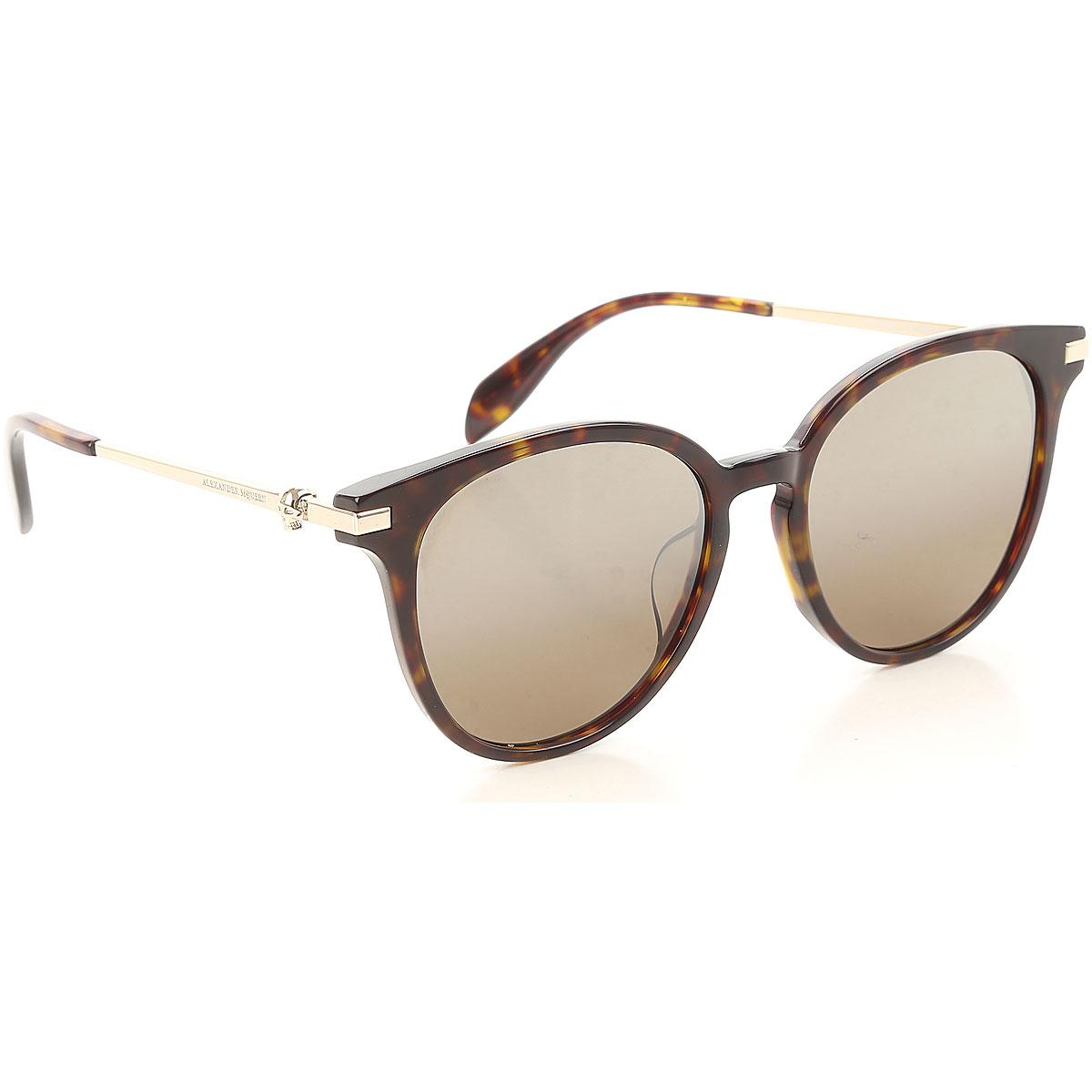 Alexander McQueen Sunglasses On Sale, Havana, 2019