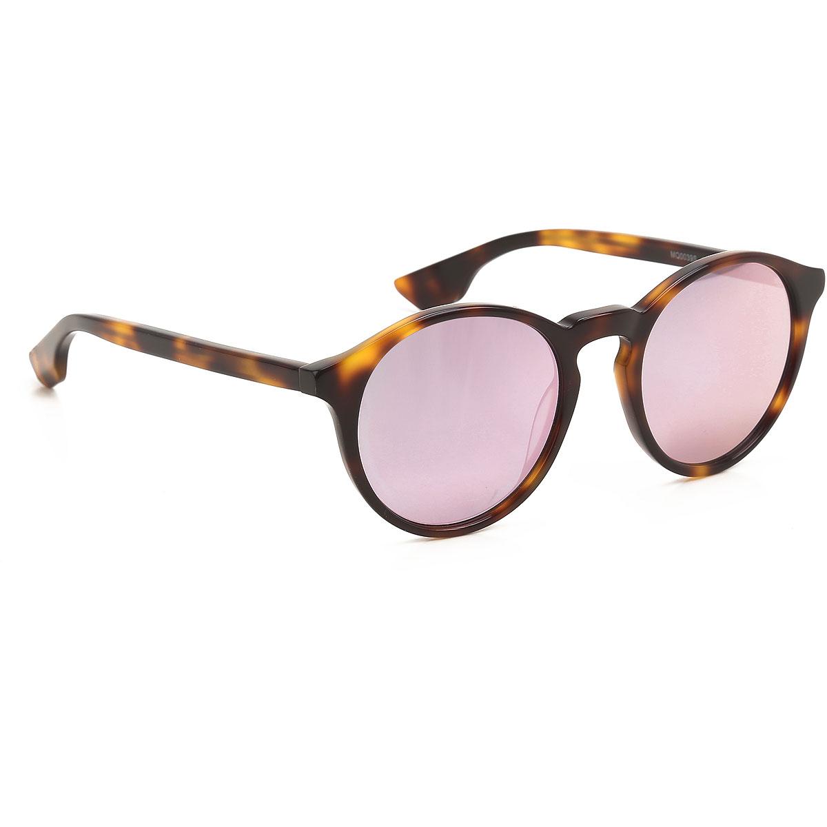 Alexander McQueen McQ Sunglasses On Sale, Havana, 2019
