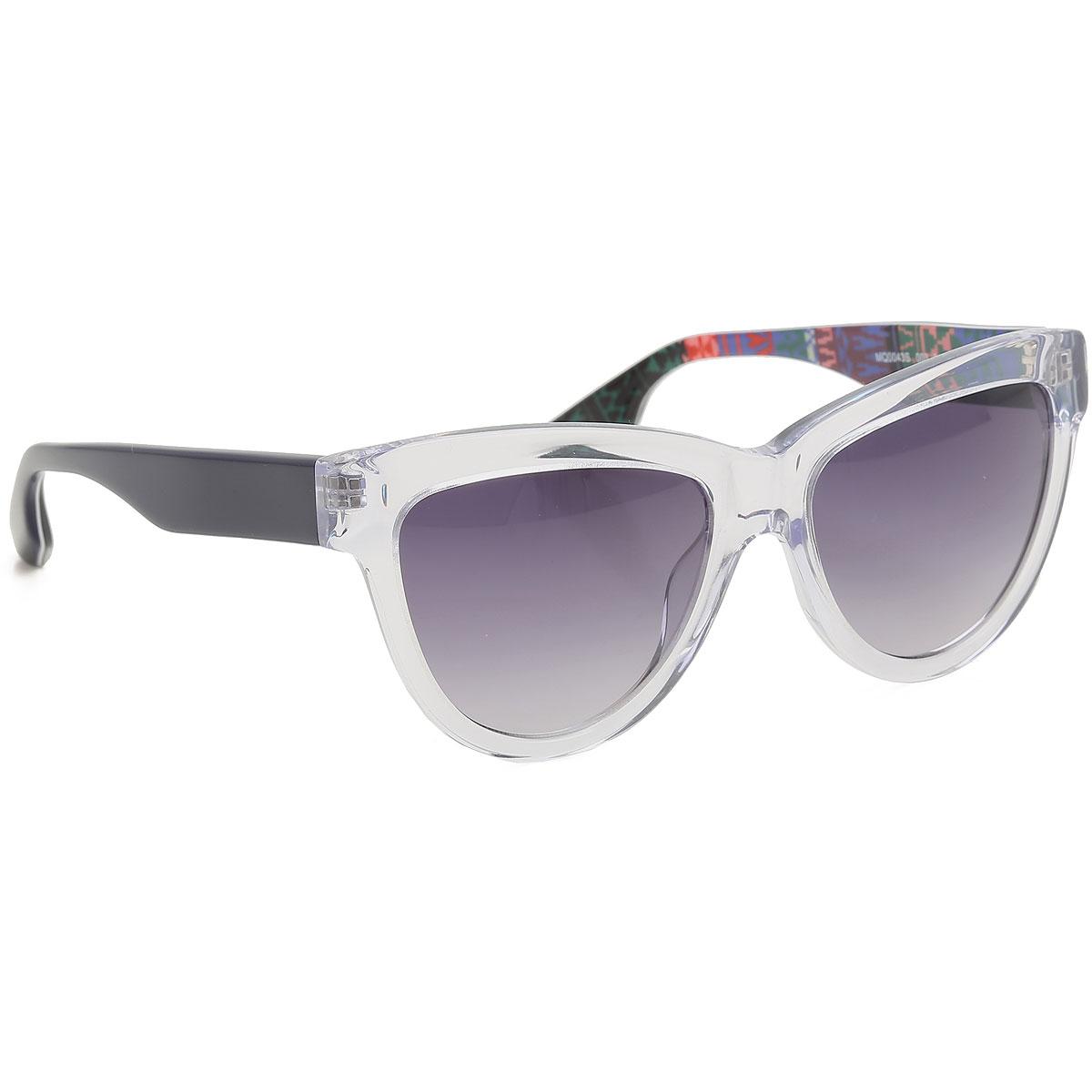 Alexander McQueen McQ Sunglasses On Sale, Crystal, 2019
