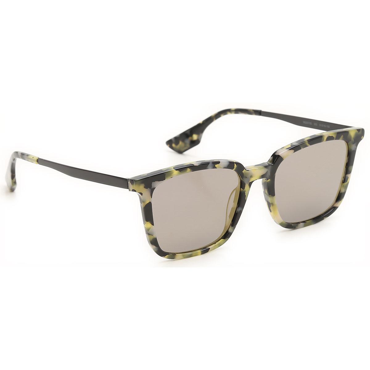 Alexander McQueen McQ Sunglasses On Sale, Green Havana, 2019