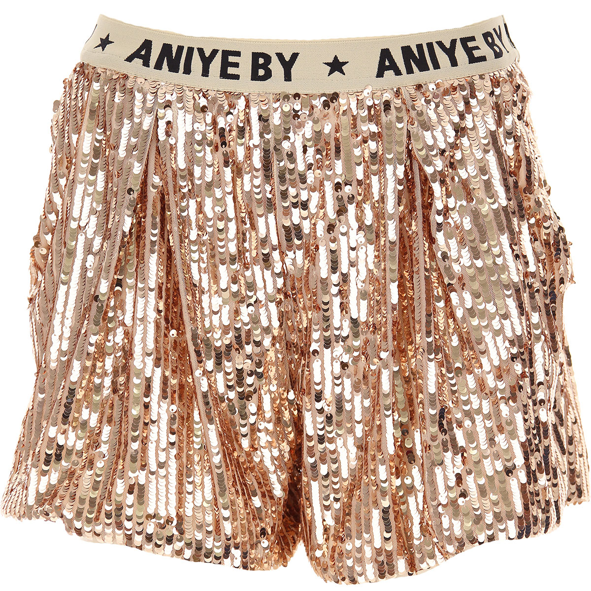 Aniye By Shorts for Women On Sale, Powder Pink, polyester, 2019, 2 4 6