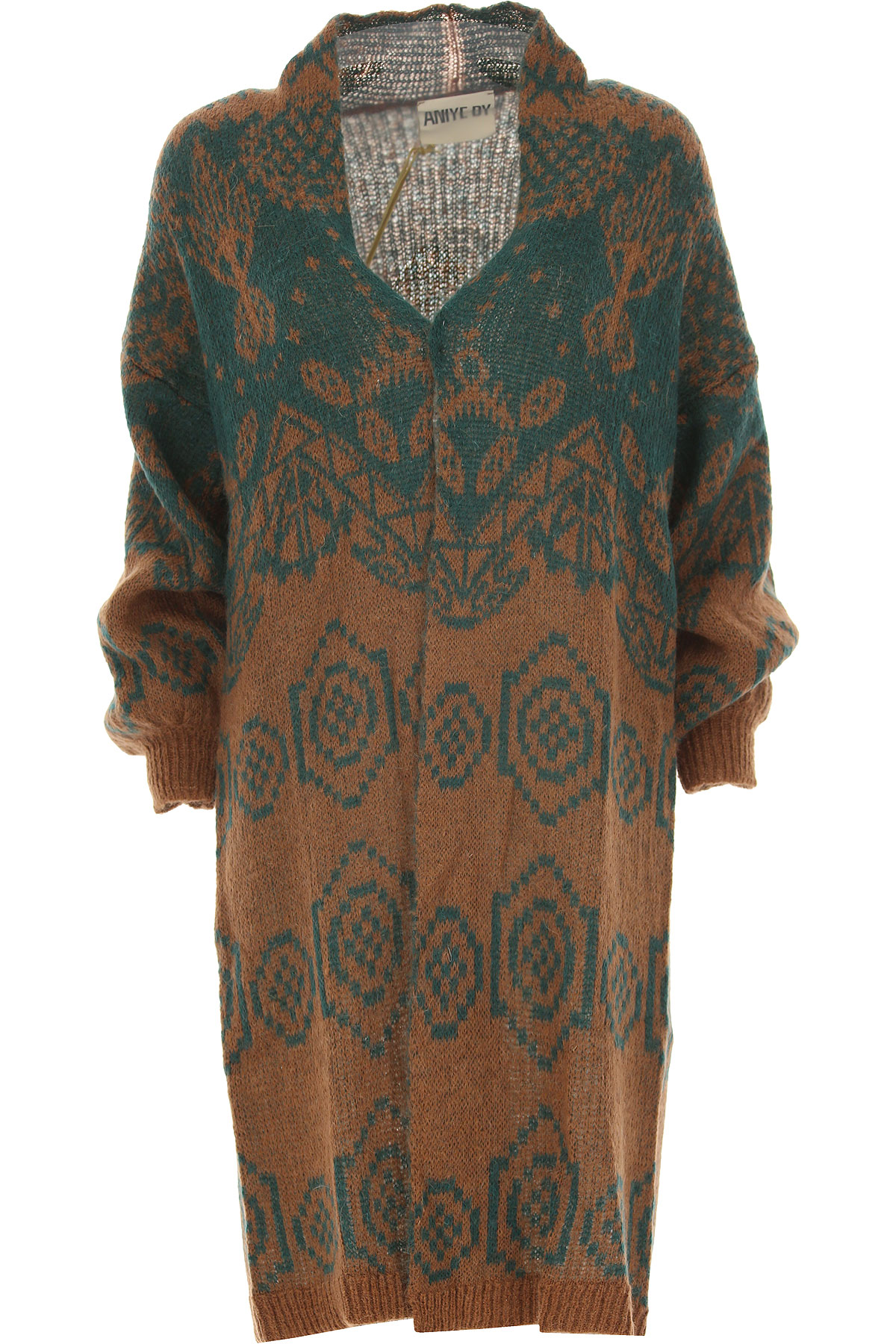 Image of Aniye By Sweater for Women Jumper, Brown, Mohair, 2017, 2 4 6