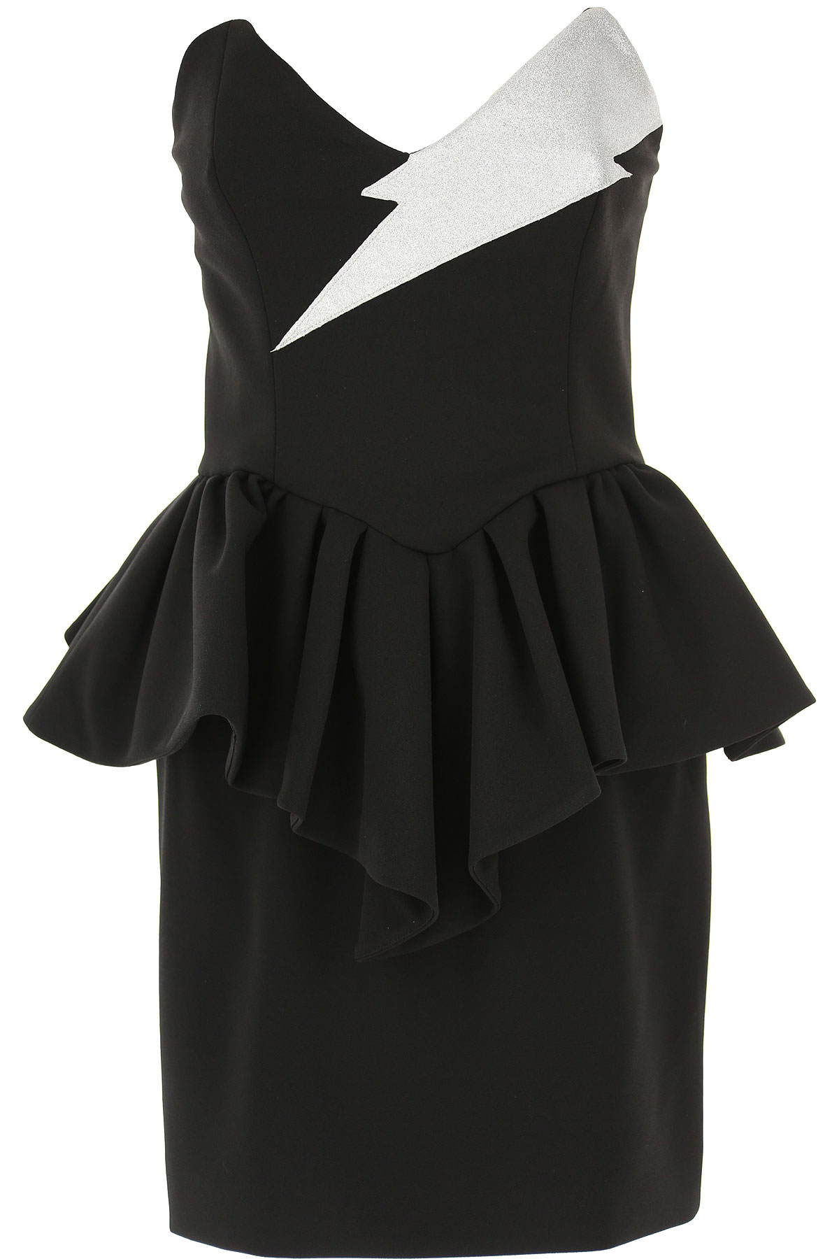 Aniye By Dress for Women, Evening Cocktail Party On Sale, Black, polyester, 2019, 4 6