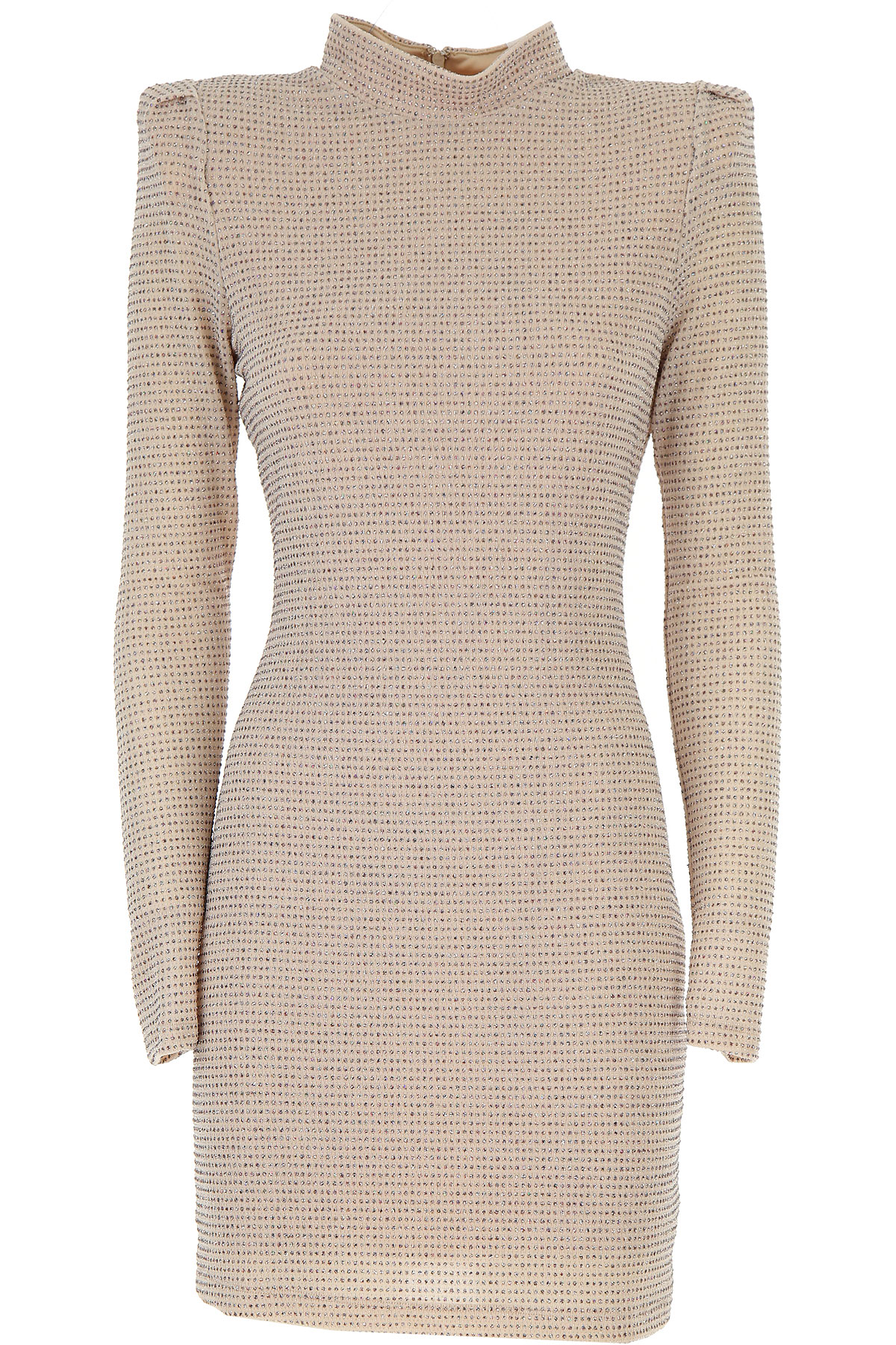 Aniye By Dress for Women, Evening Cocktail Party On Sale, Cream, polyamide, 2019, 6 8