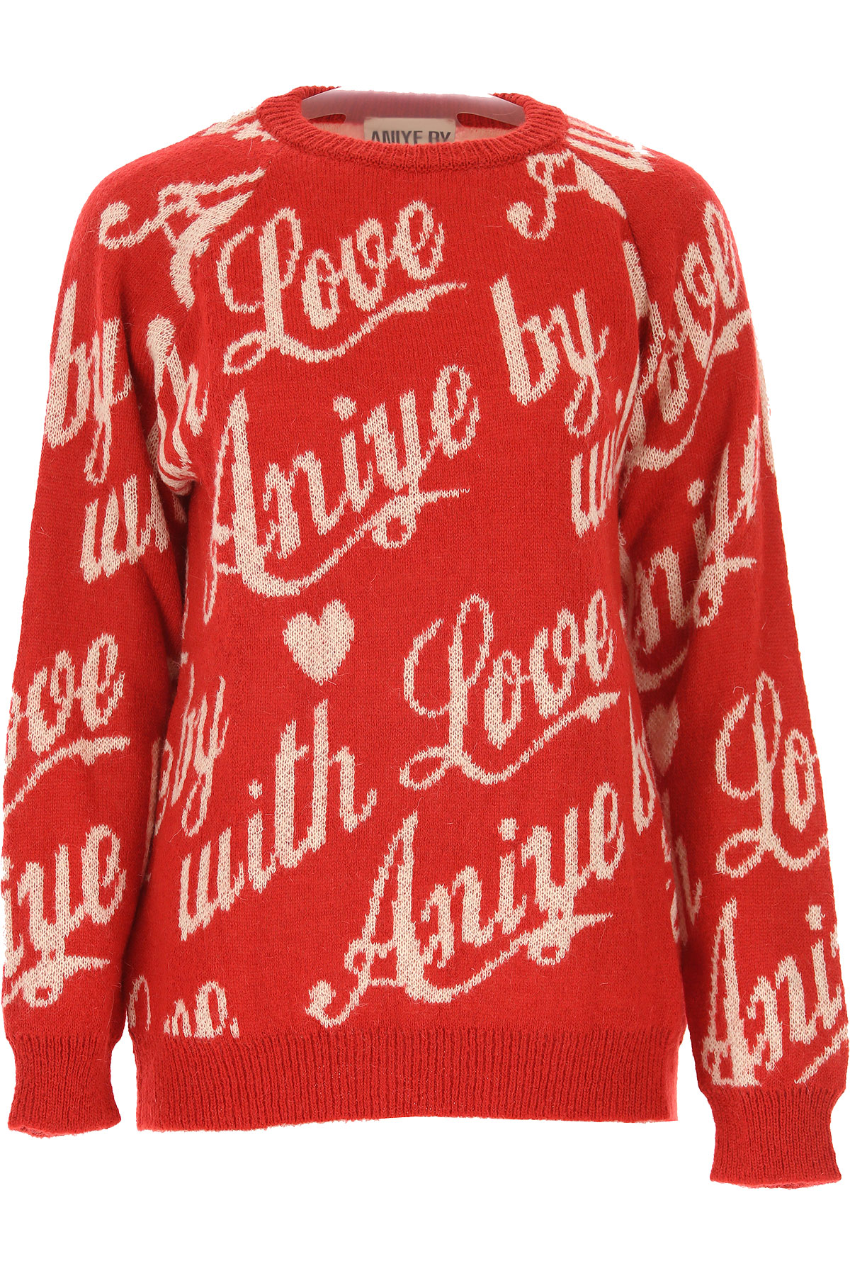 Aniye By Sweater for Women Jumper On Sale, Red, Acrylic, 2019, 2 4