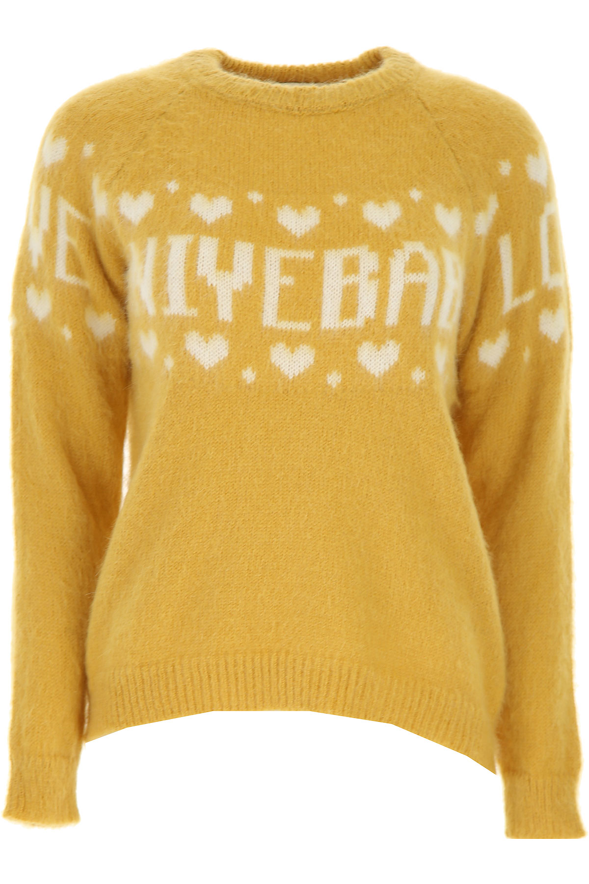 Aniye By Sweater for Women Jumper On Sale, Gold, Acrylic, 2019, 4 6